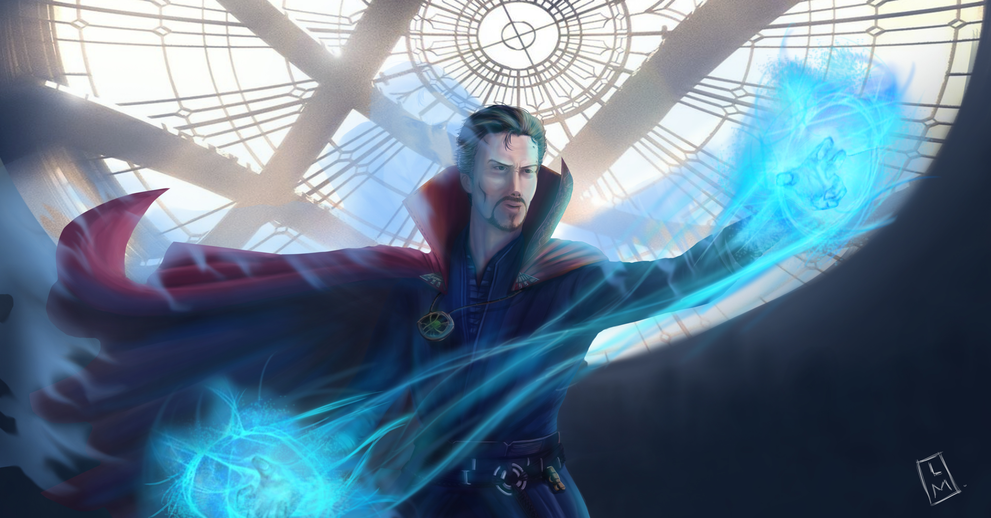 doctor strange 4k art 1547506722 - Doctor Strange 4K Art - superheroes wallpapers, illustration wallpapers, doctor strange wallpapers, digital art wallpapers, behance wallpapers, artwork wallpapers, artist wallpapers, 4k-wallpapers