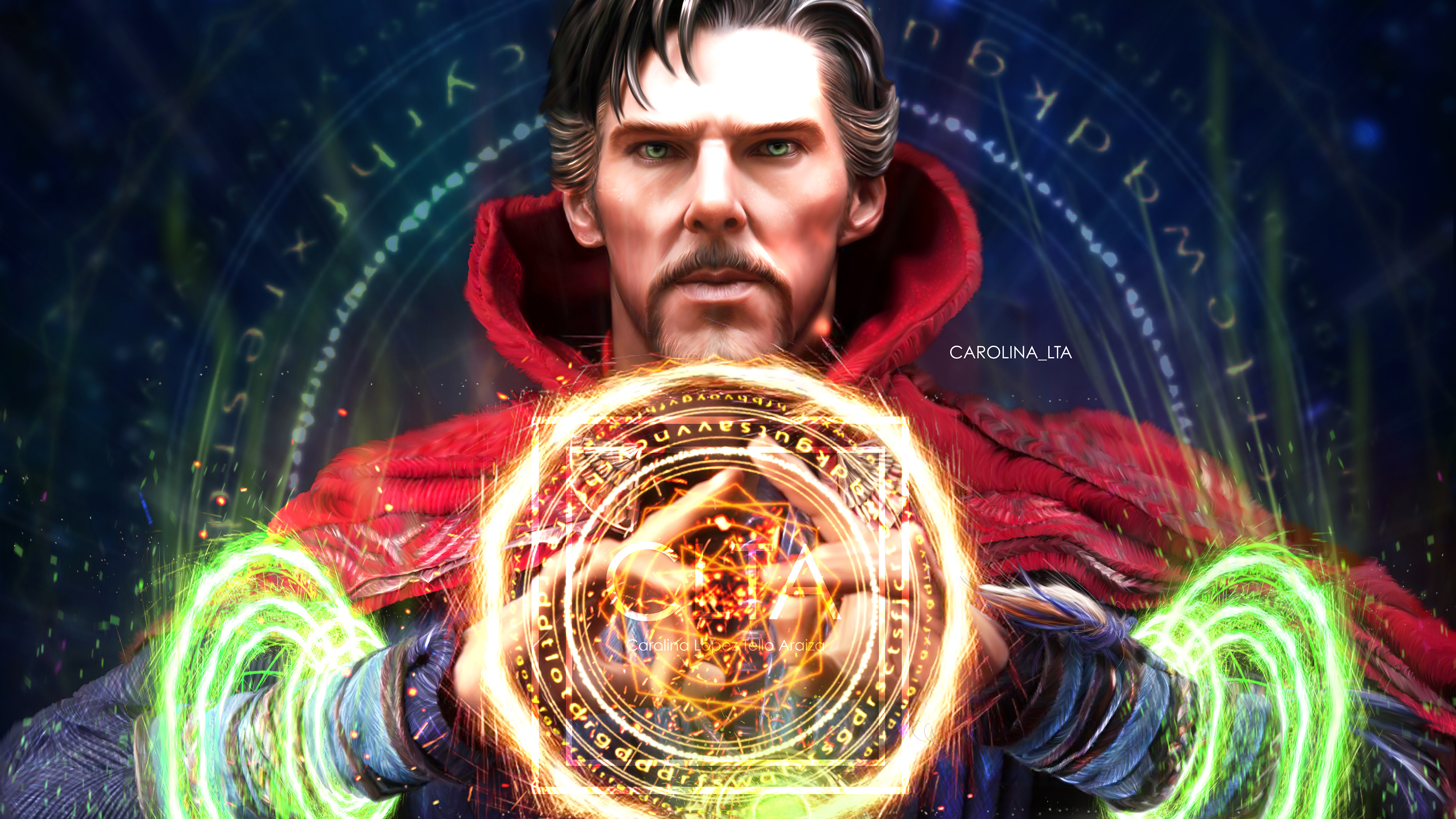 dr strange 4k 1547506774 - Dr Strange 4k - superheroes wallpapers, illustration wallpapers, doctor strange wallpapers, digital art wallpapers, behance wallpapers, artwork wallpapers, artist wallpapers, 4k-wallpapers