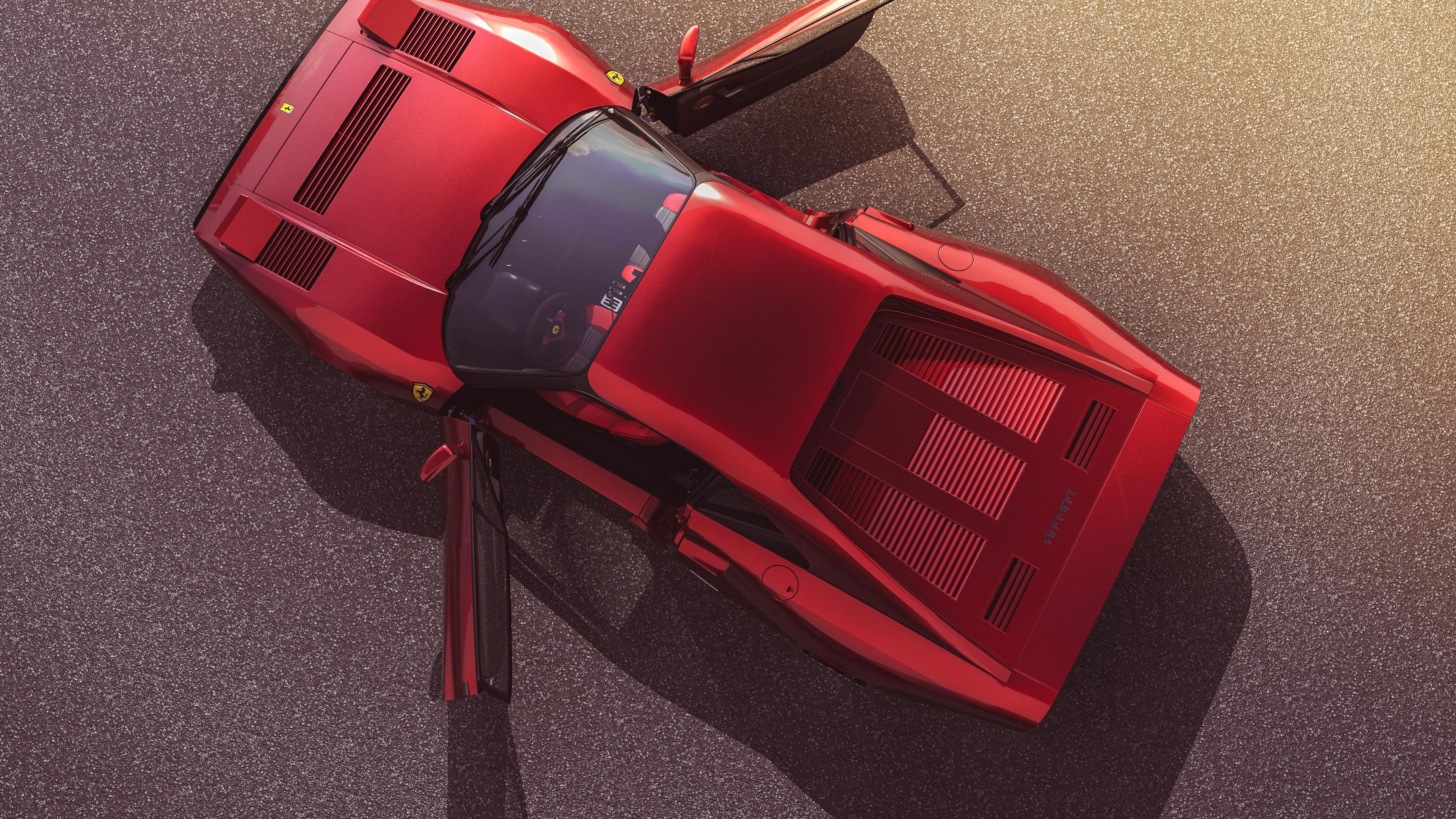 ferrari 288 4k 1546361857 - Ferrari 288 4k - hd-wallpapers, ferrari wallpapers, cars wallpapers, behance wallpapers, 4k-wallpapers
