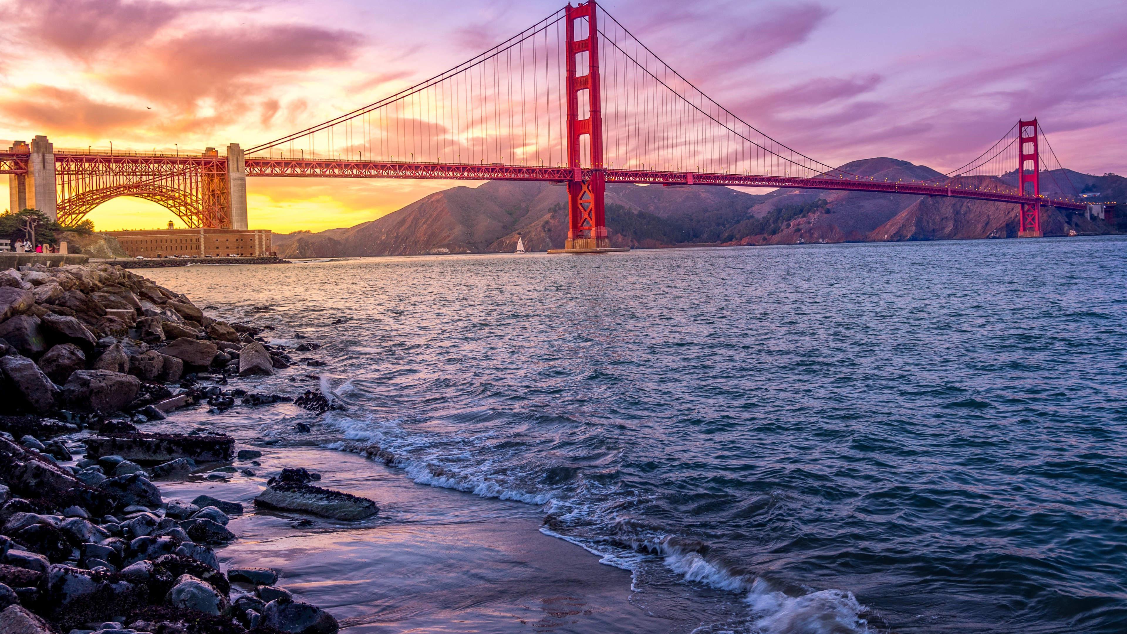Wallpaper 4k Golden Gate Bridge Us 2019 4k 4k Wallpapers 5k Wallpapers Bridge Wallpapers Golden Gate Bridge Wallpapers Hd Wallpapers San Francisco Wallpapers World Wallpapers