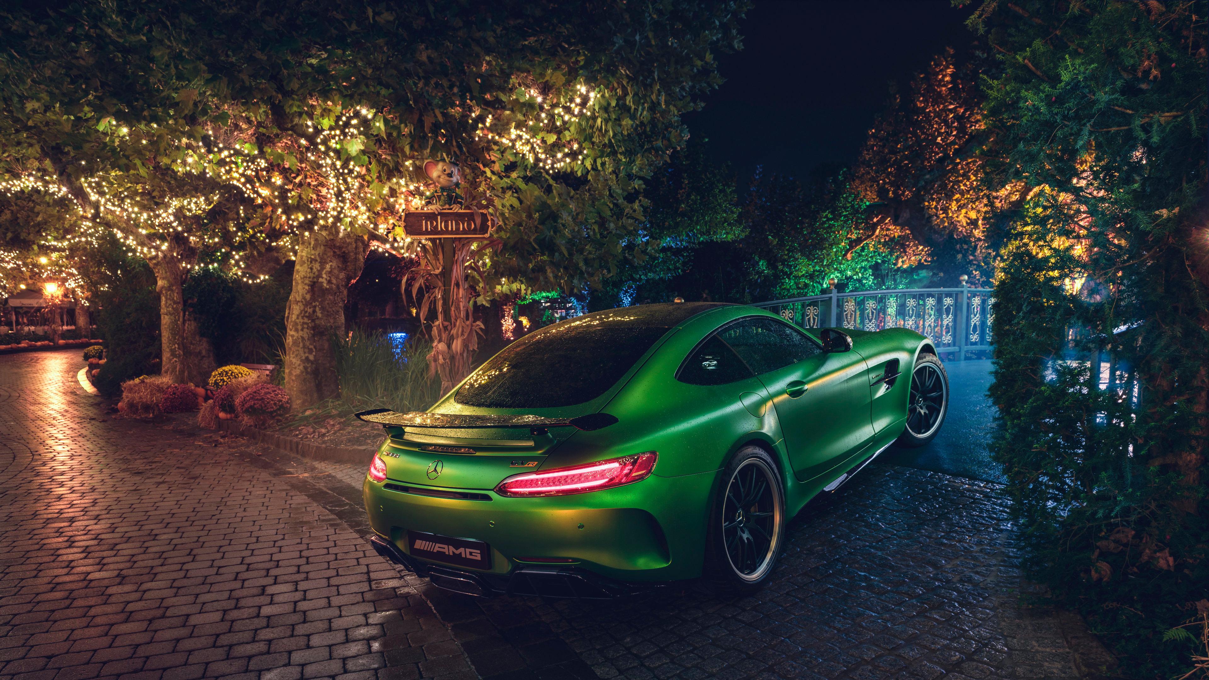 green mercedes amg gt r rear 4k 1546361640 - Green Mercedes AMG GT R Rear 4k - mercedes wallpapers, mercedes amg gtr wallpapers, hd-wallpapers, cars wallpapers, 4k-wallpapers, 2018 cars wallpapers