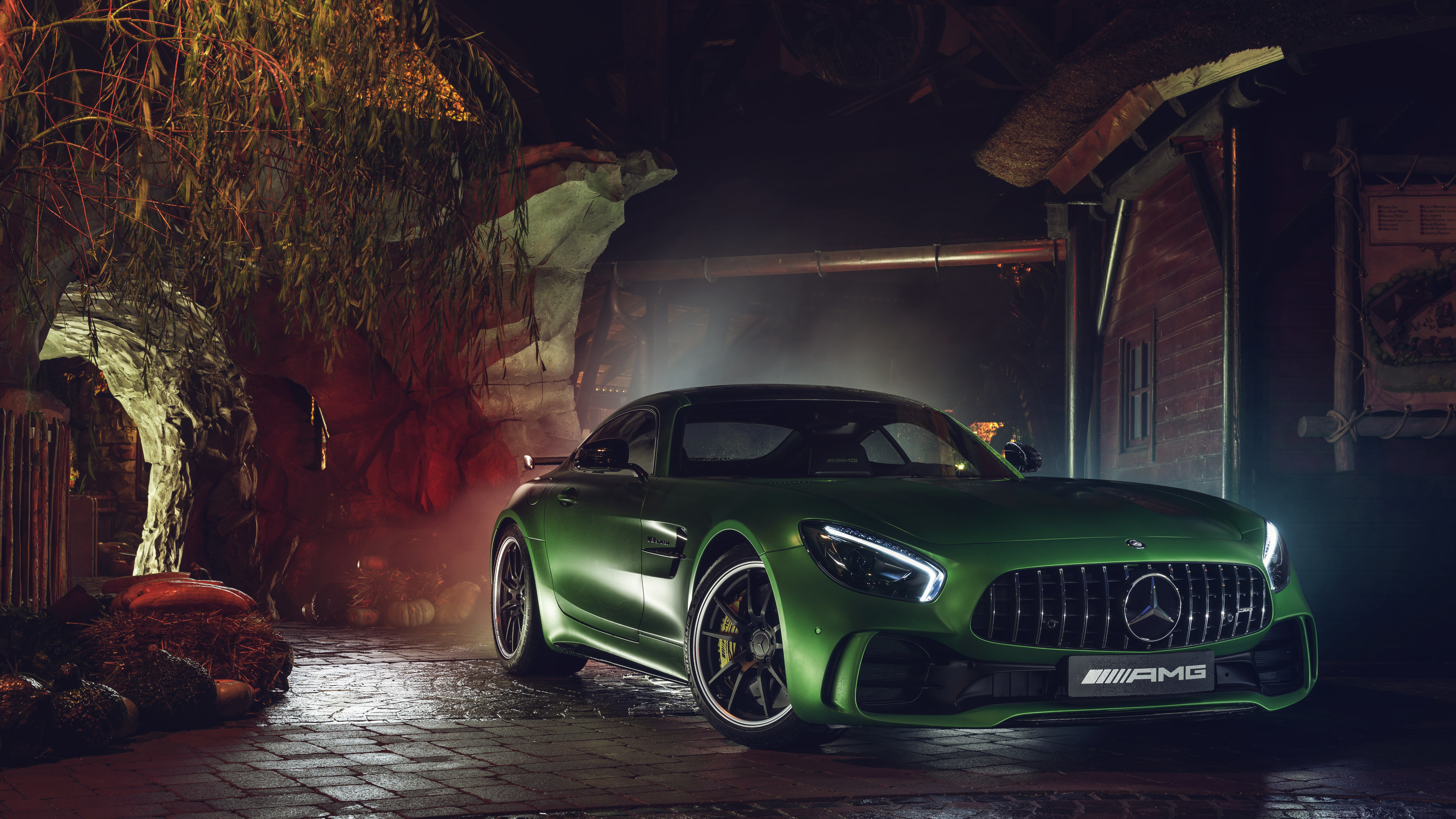green mercedes amg gtr 4k 1546361528 - Green Mercedes AMG GTR  4k - mercedes wallpapers, mercedes amg gtr wallpapers, hd-wallpapers, cars wallpapers, 4k-wallpapers, 2018 cars wallpapers