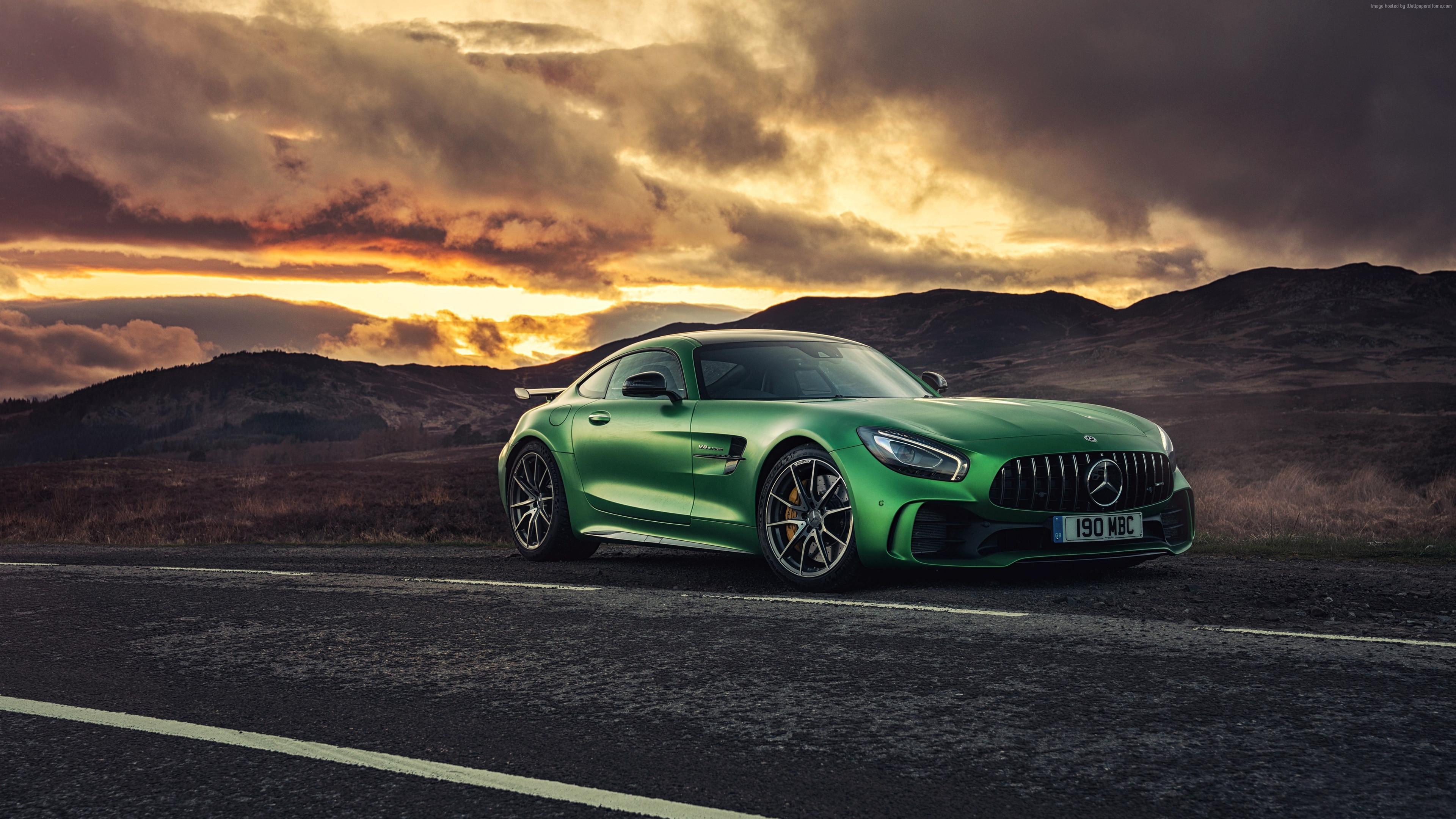 green mercedes benz amg gt 4k 1547936830 - Green Mercedes Benz Amg GT 4k - mercedes wallpapers, mercedes amg gtr wallpapers, hd-wallpapers, cars wallpapers, 4k-wallpapers, 2018 cars wallpapers