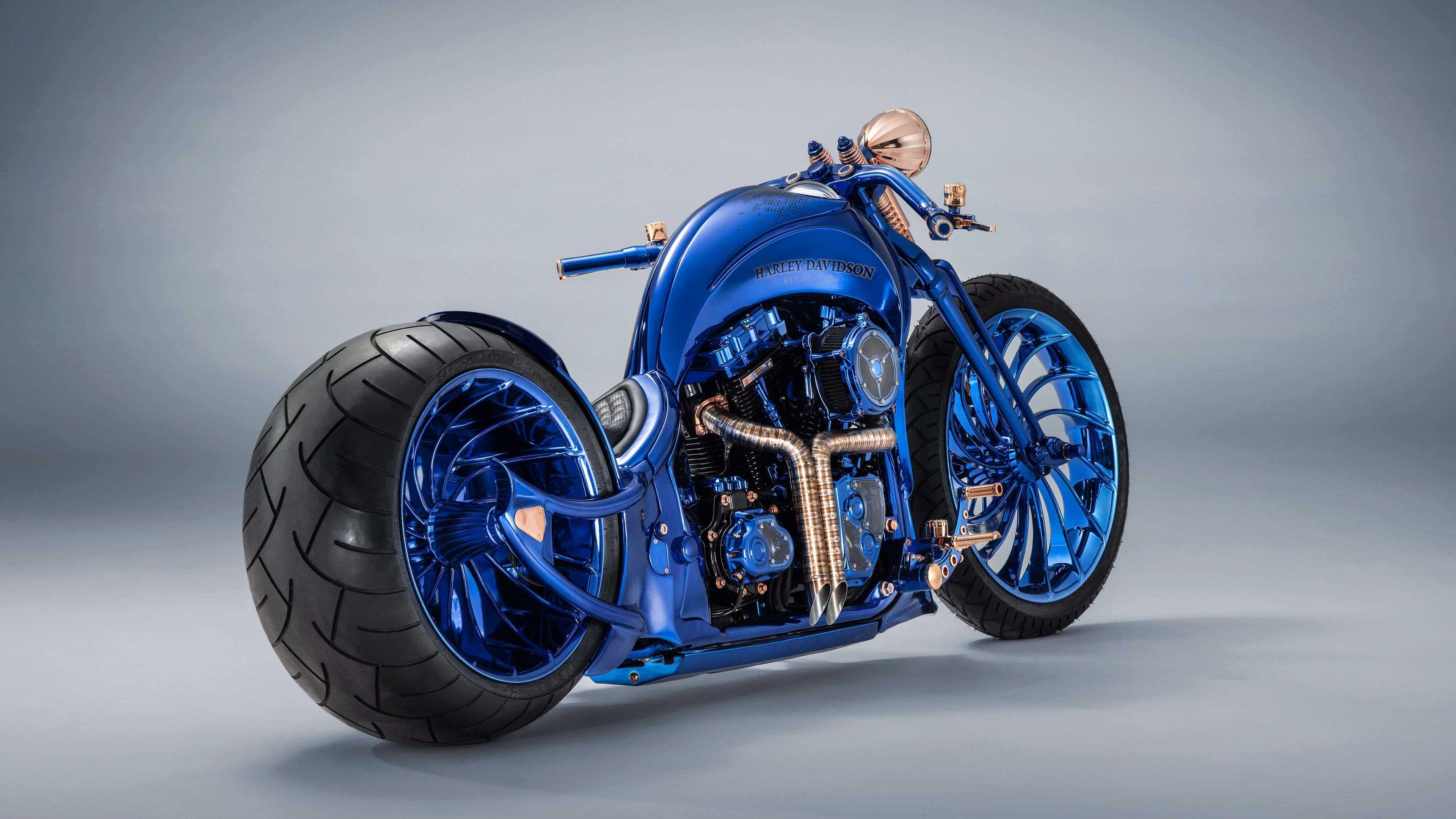harley davidson blue edition 4k 1547937821 - Harley Davidson Blue Edition 4k - hd-wallpapers, harley davidson wallpapers, bikes wallpapers, 4k-wallpapers