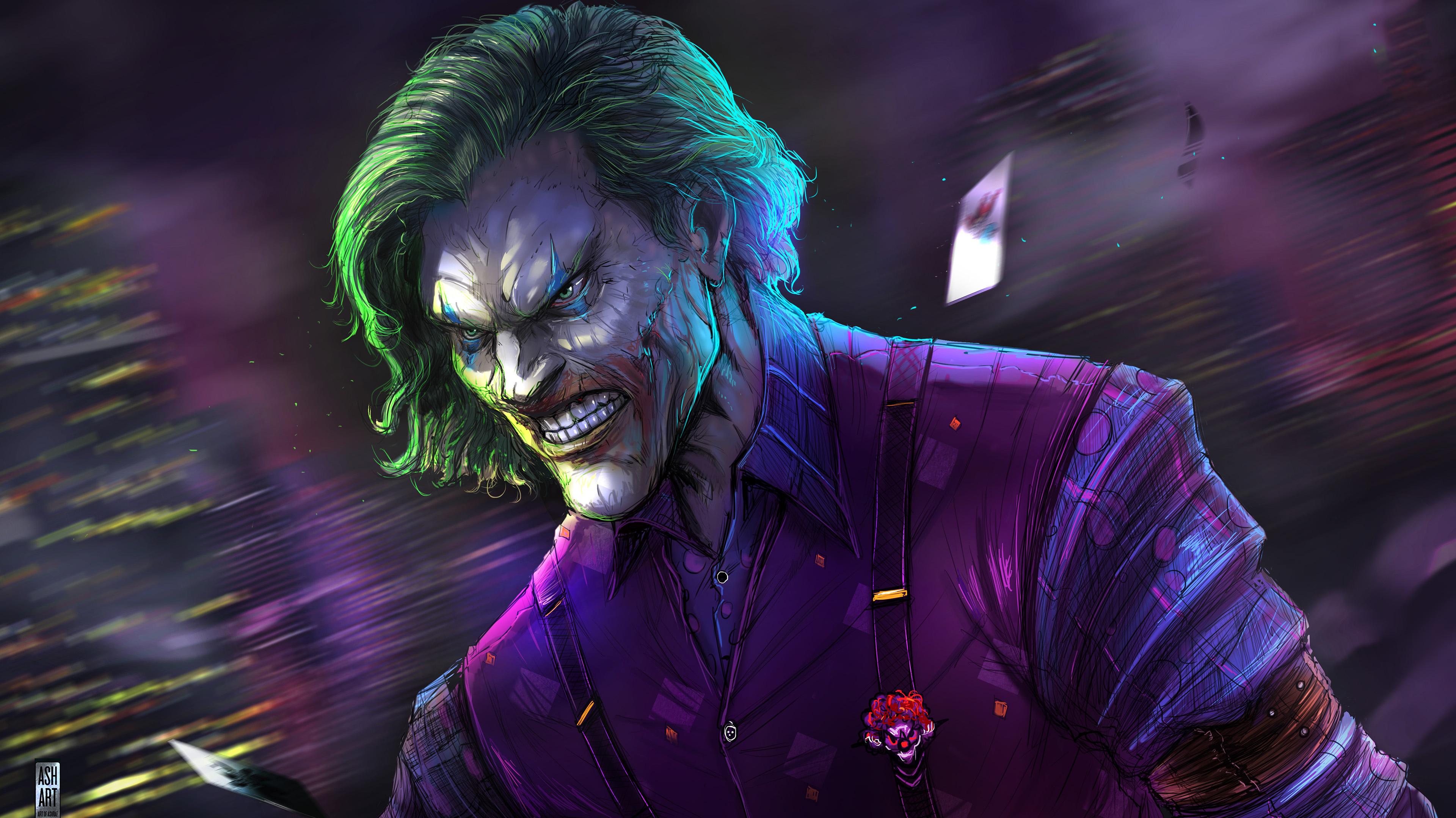 joker artwork 4k 2019 1547319646 - Joker Artwork 4k 2019 - superheroes wallpapers, joker wallpapers, hd-wallpapers, digital art wallpapers, behance wallpapers, artwork wallpapers, artist wallpapers, 4k-wallpapers