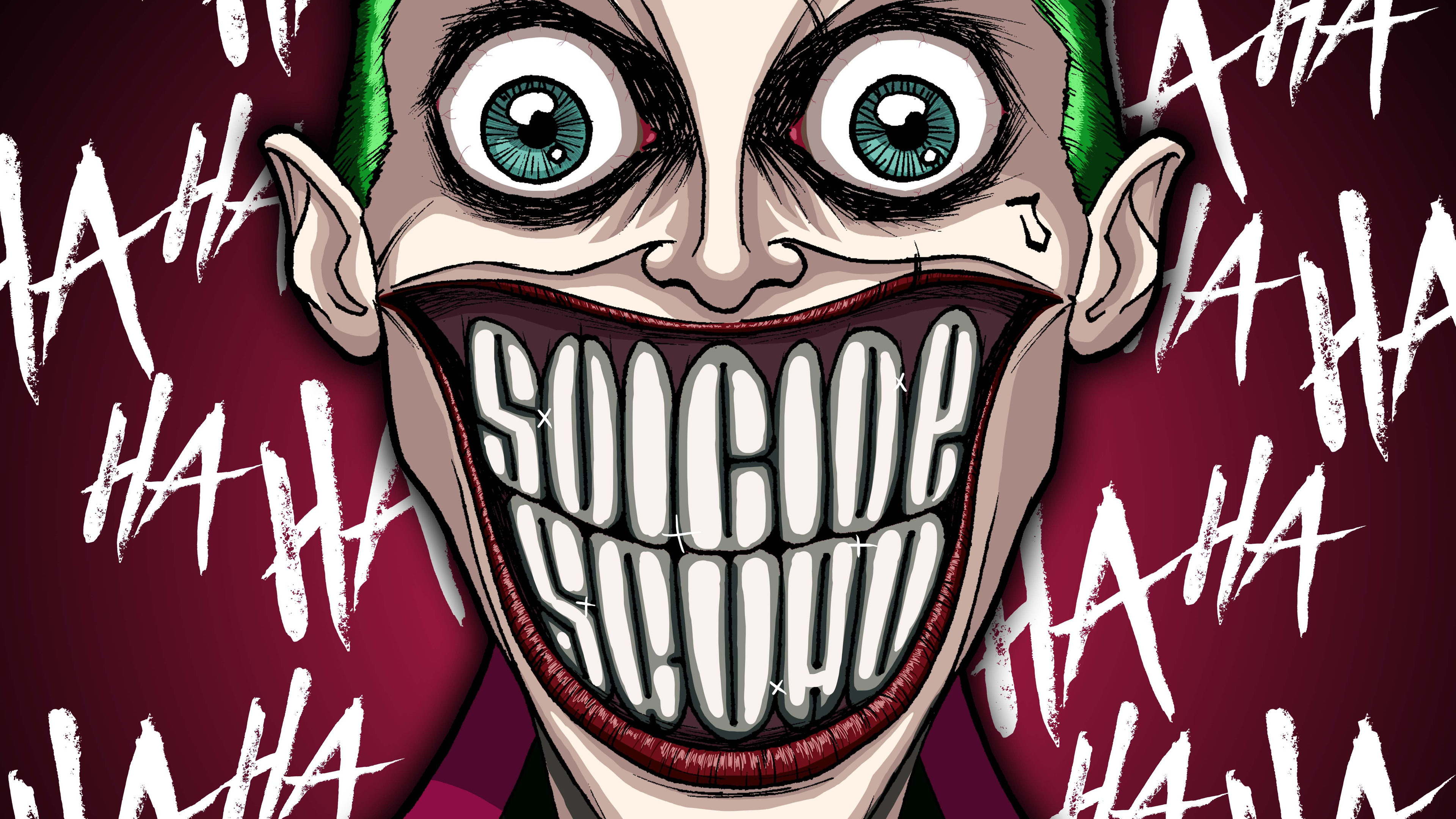 joker damaged 4k 1547936498 - Joker Damaged 4k - supervillain wallpapers, superheroes wallpapers, joker wallpapers, hd-wallpapers, digital art wallpapers, artwork wallpapers, artist wallpapers, 5k wallpapers, 4k-wallpapers