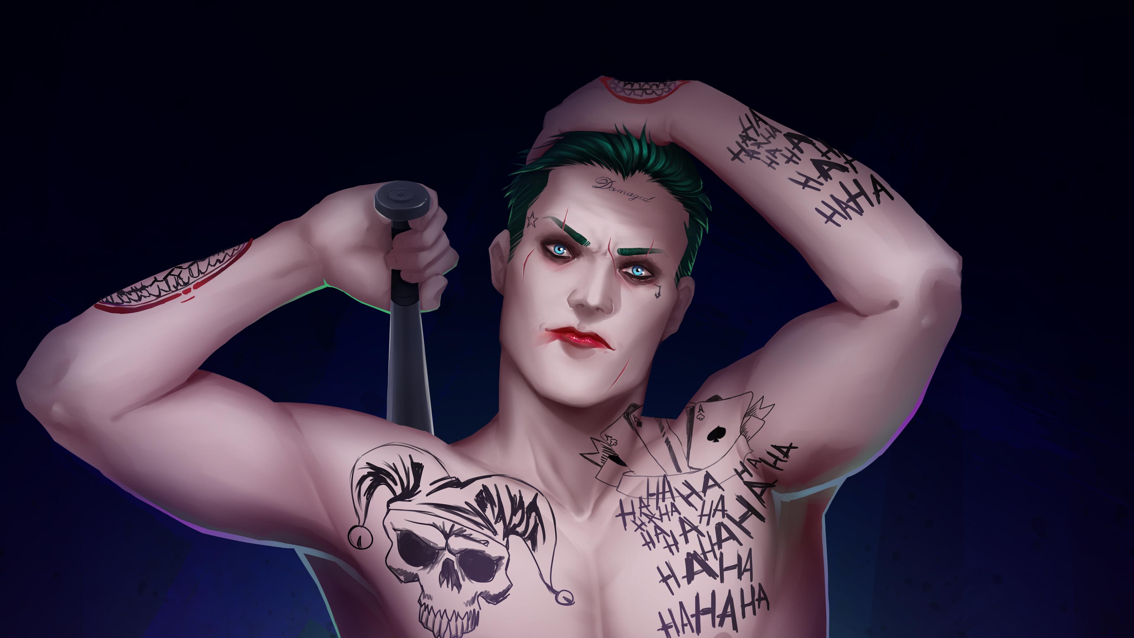 joker digital artwork 4k 1547506295 - Joker Digital Artwork 4k - supervillain wallpapers, superheroes wallpapers, joker wallpapers, hd-wallpapers, digital art wallpapers, artwork wallpapers, artist wallpapers, 4k-wallpapers