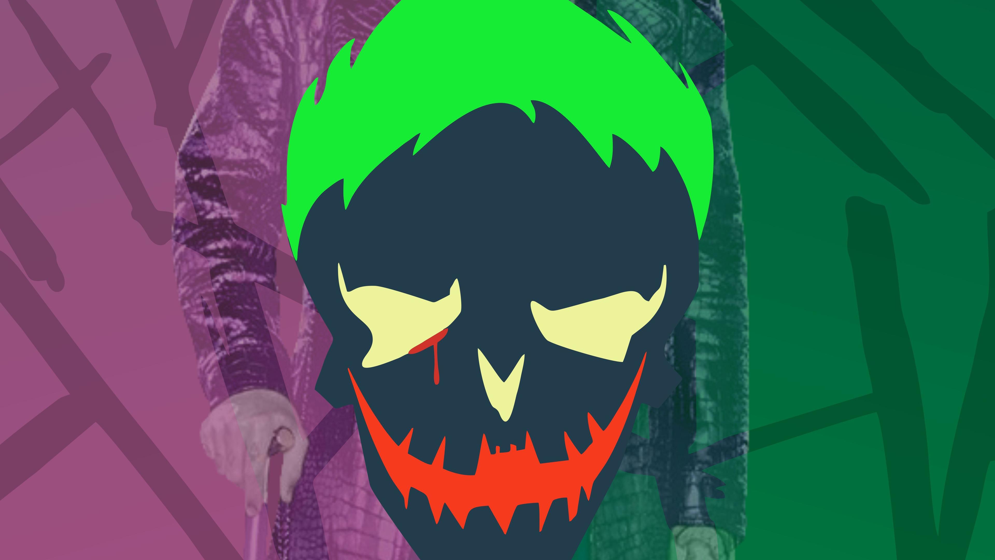 joker haha 4k 1547506287 - Joker Haha 4k - supervillain wallpapers, suicide squad wallpapers, joker wallpapers, hd-wallpapers, 4k-wallpapers
