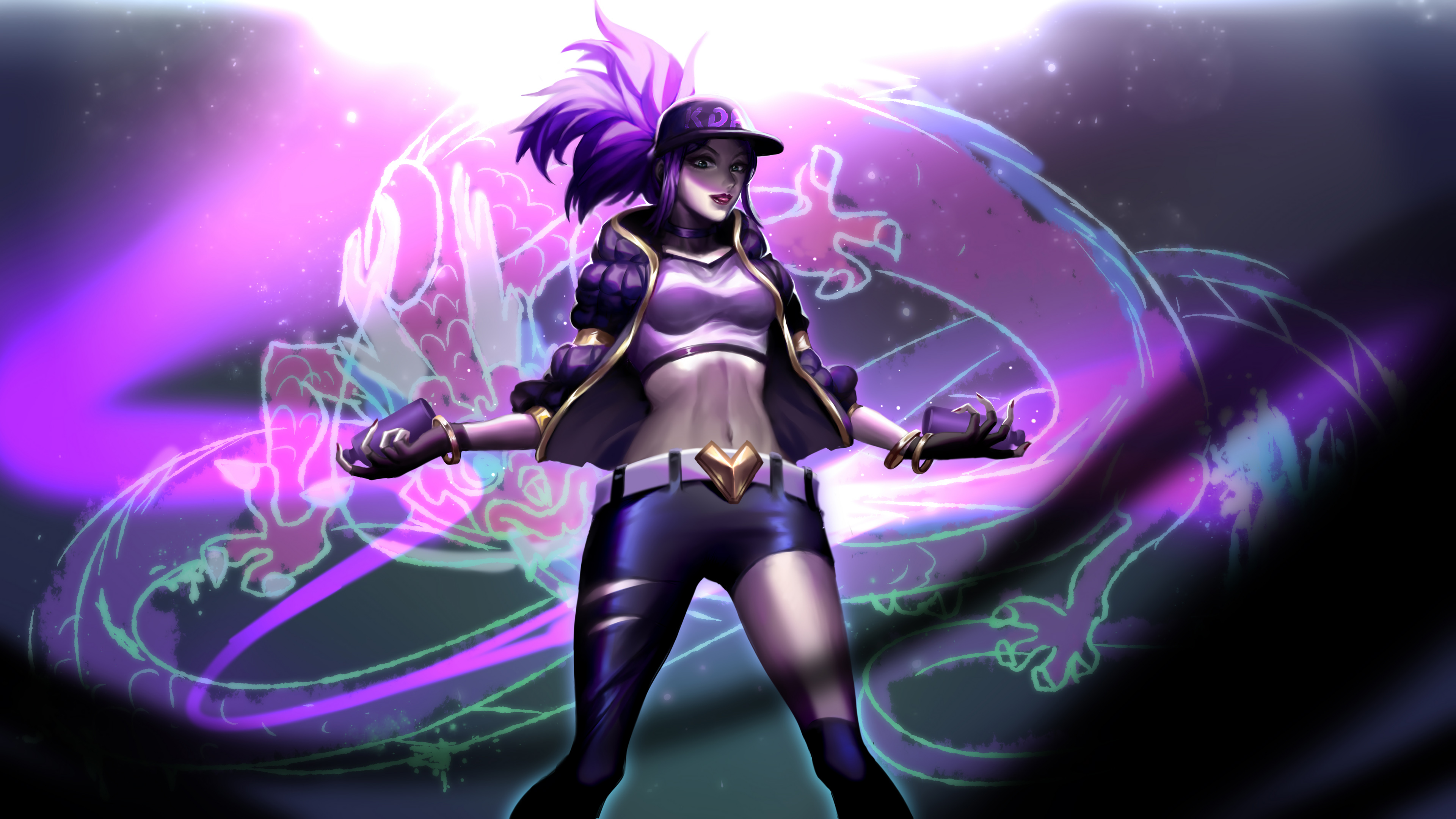 Wallpaper 4k Kda Akali 4k 4k Wallpapers Akali League Of Legends