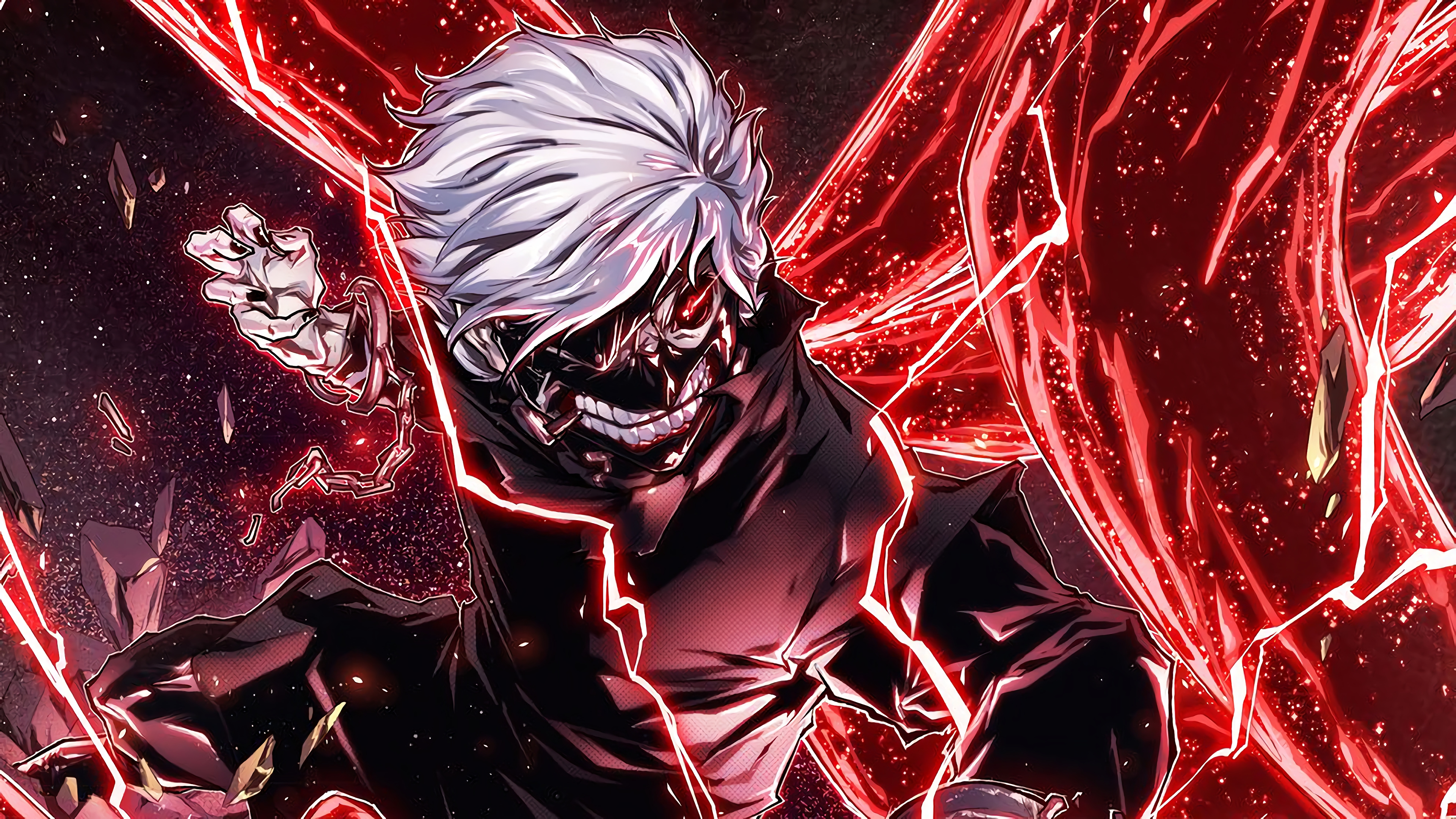 ken kaneki tokyo ghoul 4k 1548527781 - Ken Kaneki Tokyo Ghoul 4k - tokyo ghoul wallpapers, ken kaneki wallpapers, hd-wallpapers, digital art wallpapers, deviantart wallpapers, artwork wallpapers, artist wallpapers, anime wallpapers, 4k-wallpapers