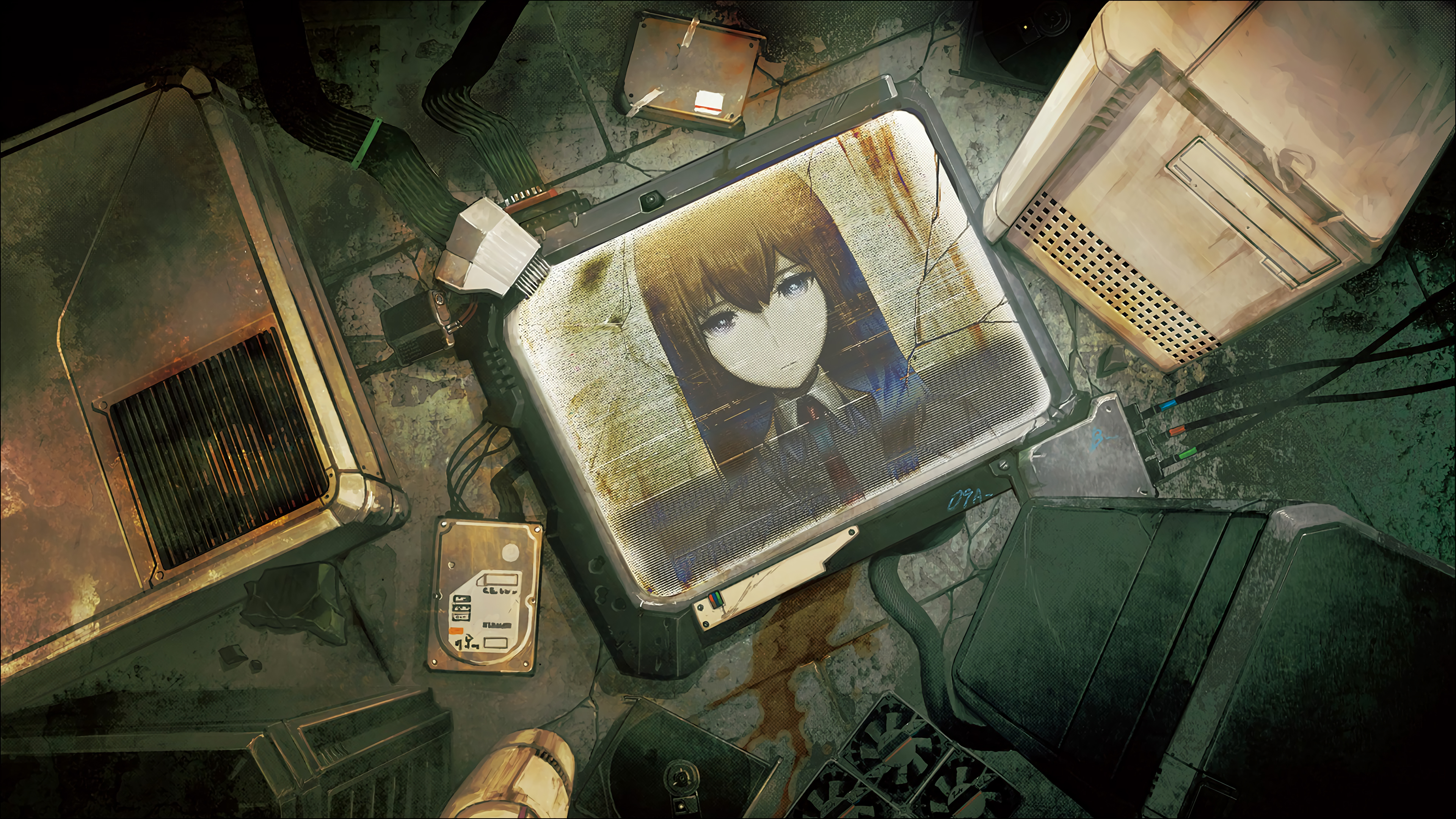 kurisu makise 4k 1547938681 - Kurisu Makise 4k - kurisu makise wallpapers, hd-wallpapers, anime wallpapers, anime girl wallpapers, 4k-wallpapers