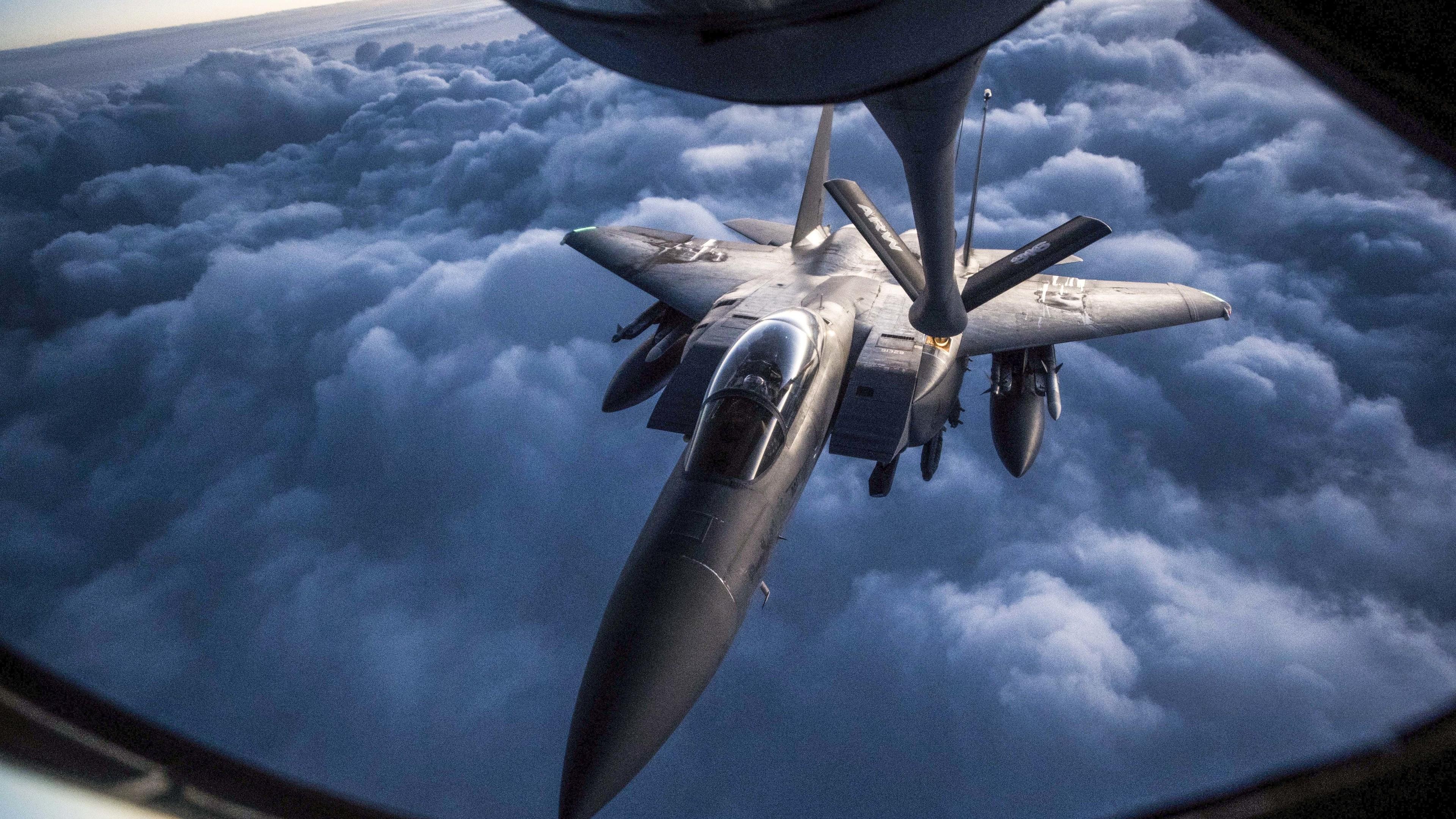 mcdonnell douglas f 15 eagle 4k 1547938002 - McDonnell Douglas F 15 Eagle 4k - planes wallpapers, military wallpapers, hd-wallpapers, airplane wallpapers, 5k wallpapers, 4k-wallpapers