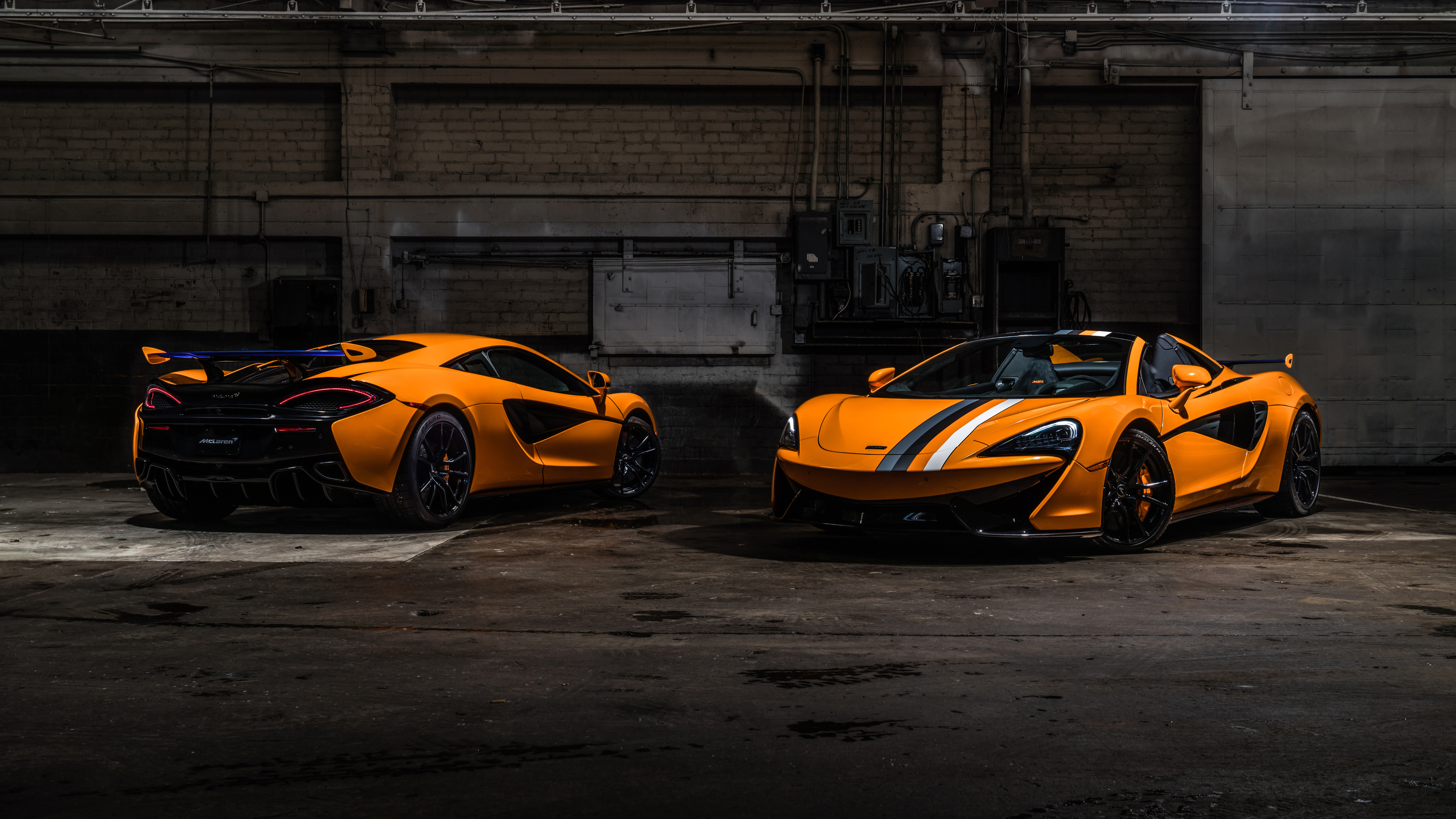 mclaren mso 570s spider and mso 570s coupe papaya spark 4k 1546362277 - McLaren MSO 570S Spider and MSO 570S Coupe Papaya Spark 4k - mclaren wallpapers, mclaren 570s spider wallpapers, hd-wallpapers, cars wallpapers, 4k-wallpapers, 2018 cars wallpapers