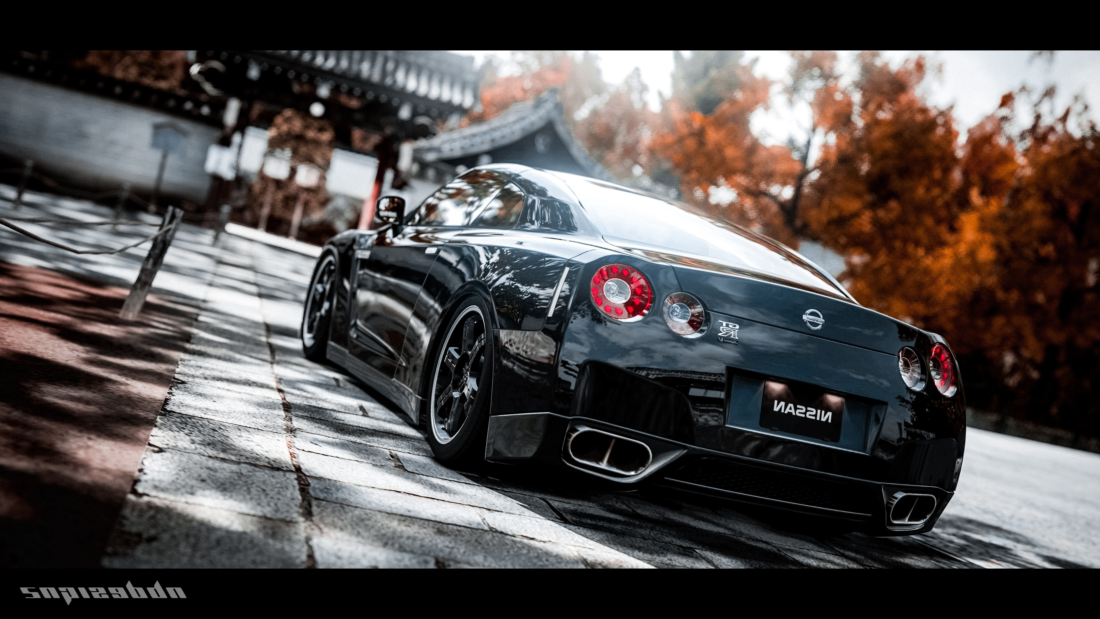 nissan gtr 2 4k 1548528095 - Nissan GTR 2 4k - nissan wallpapers, nissan gtr wallpapers, cars wallpapers, black wallpapers