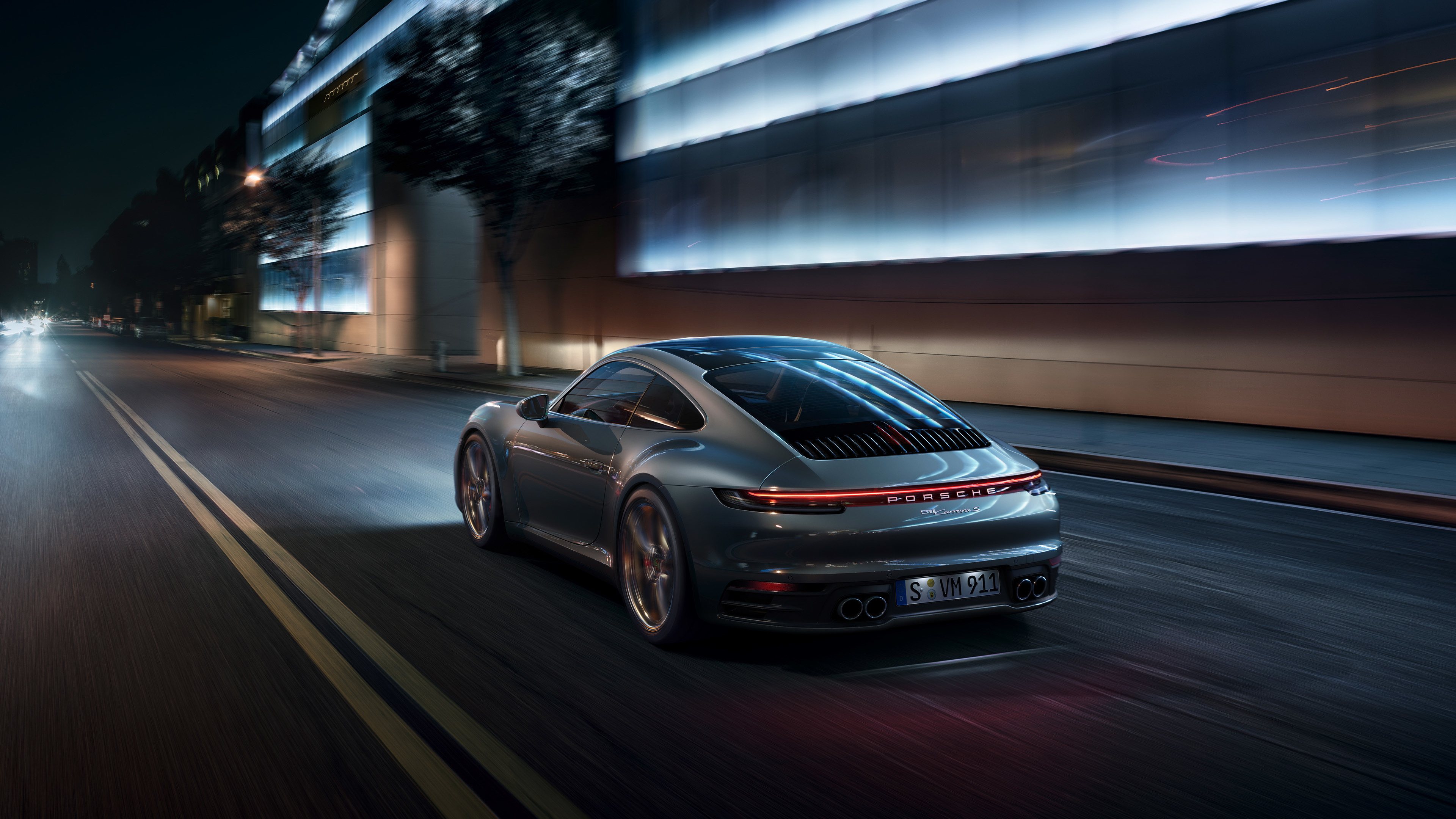porsche 911 rear 4k 1547937298 - Porsche 911 Rear 4k - porsche wallpapers, porsche 911 wallpapers, hd-wallpapers, cars wallpapers, behance wallpapers, 4k-wallpapers, 2018 cars wallpapers