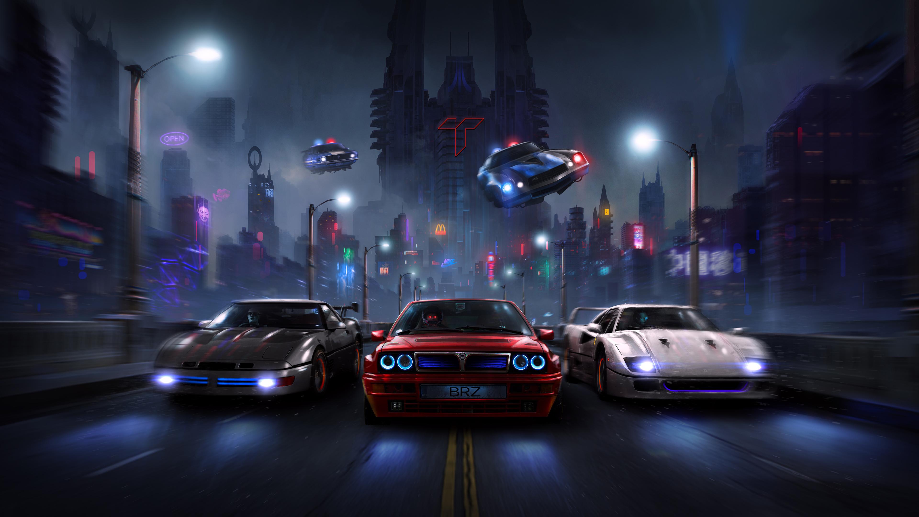 racers night chase 4k 1546362155 - Racers Night Chase 4k - hd-wallpapers, digital art wallpapers, deviantart wallpapers, cars wallpapers, artwork wallpapers, artist wallpapers, 4k-wallpapers