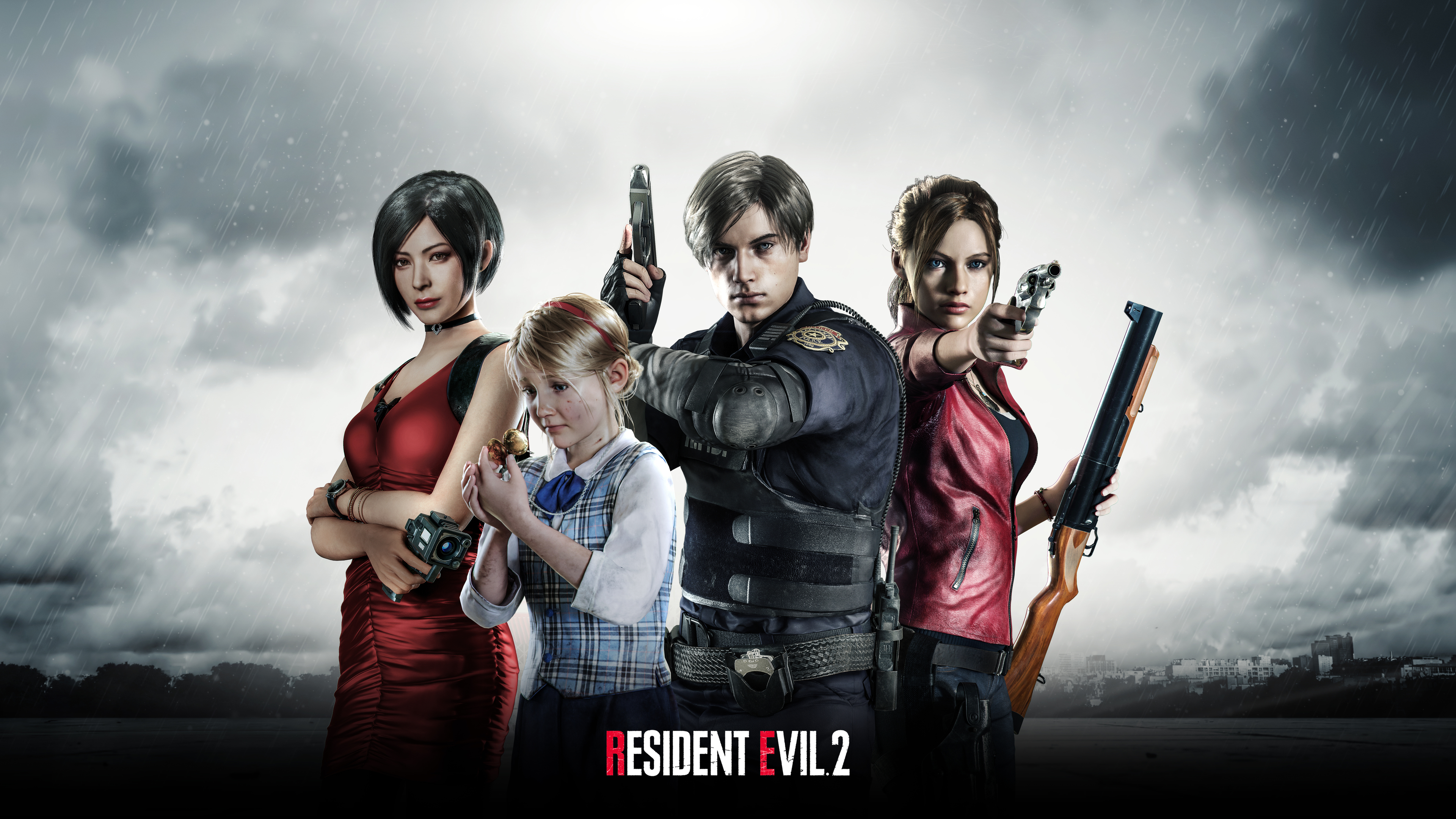 Wallpaper 4k Resident Evil 2 2019 4k 10k Wallpapers 2019
