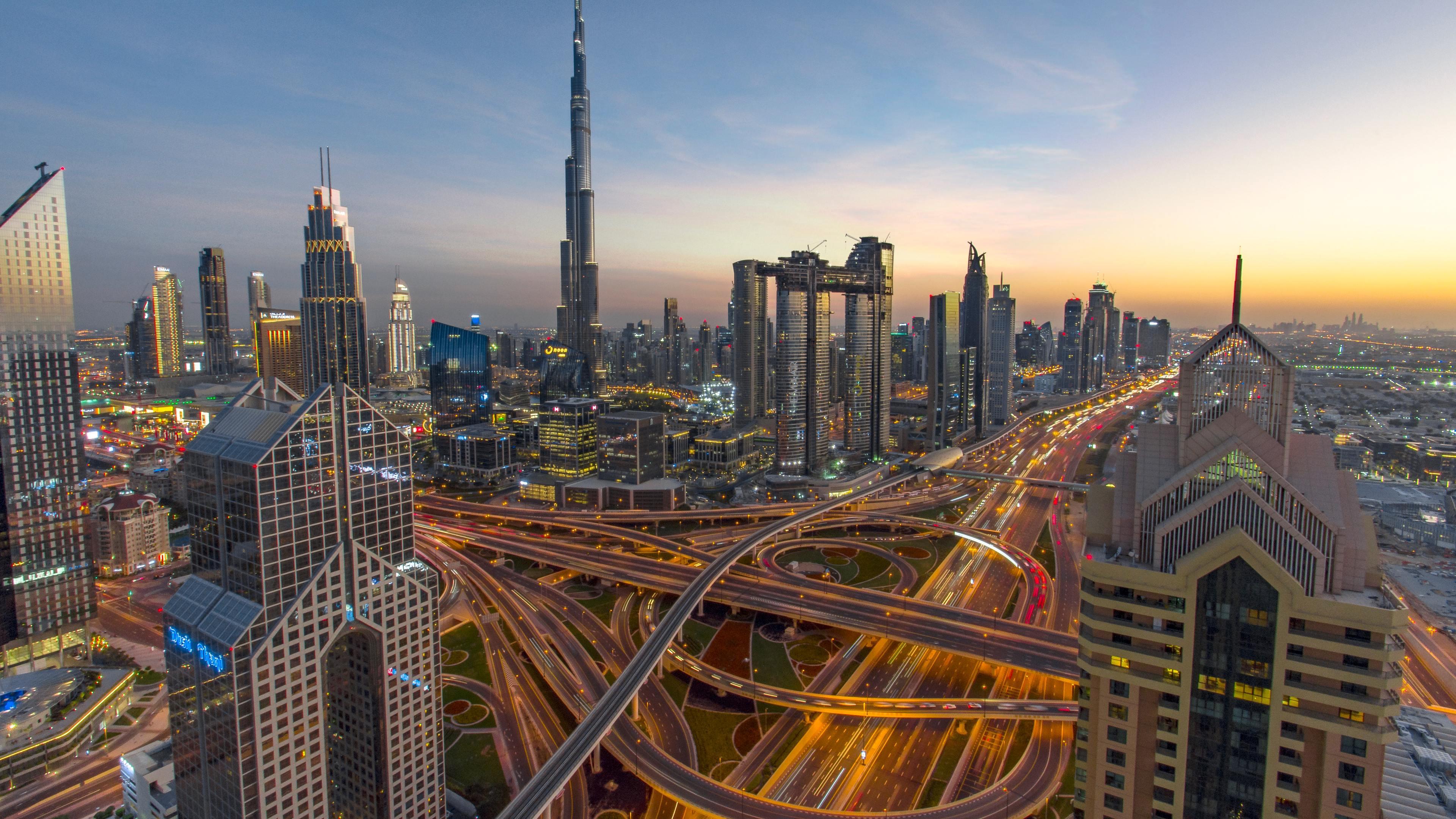 Wallpaper 4k Sheikh Zayed Road 4k 4k Wallpapers Buildings
