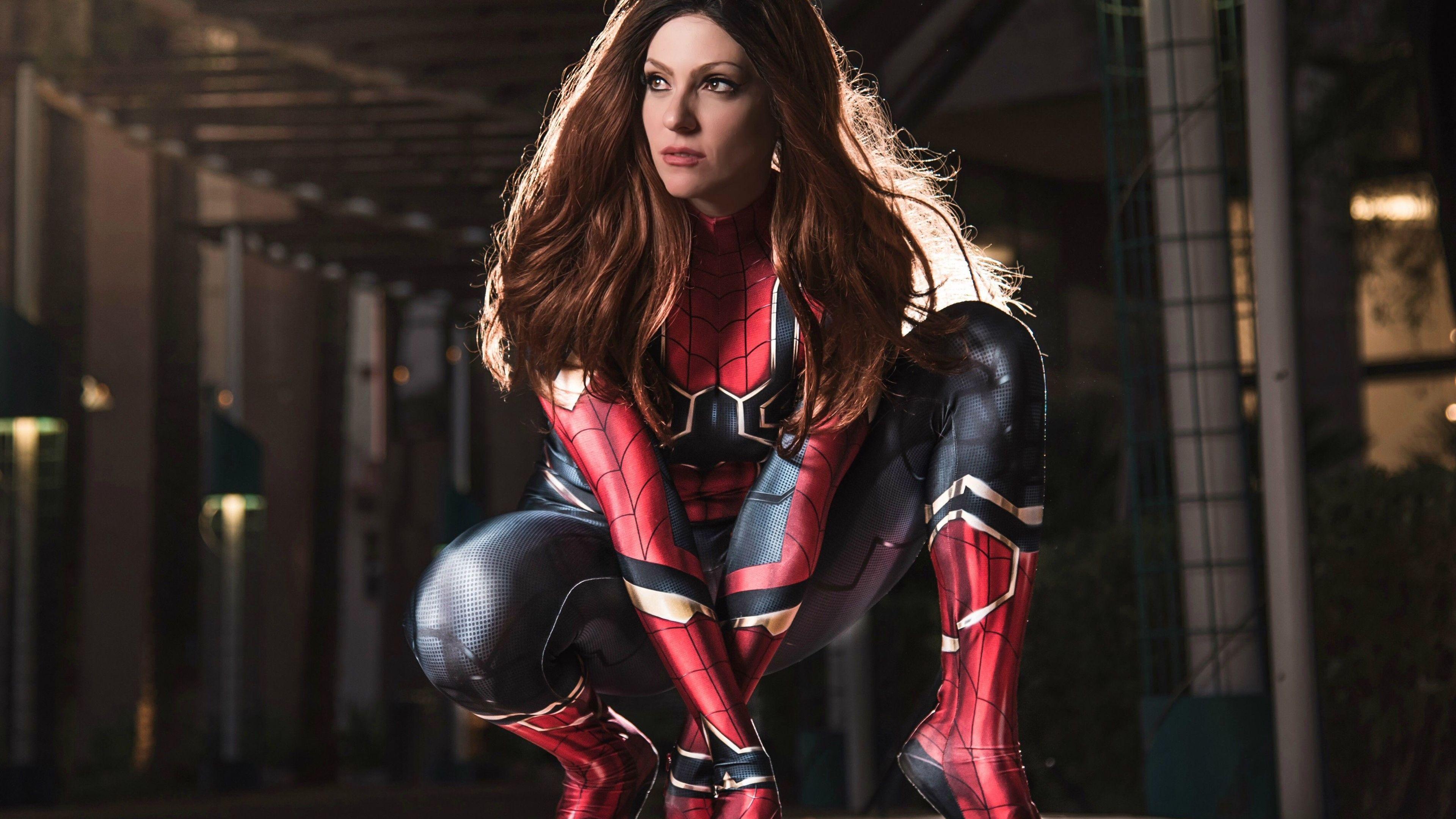 spider girl 4k 1547506391 - Spider Girl 4k - superheroes wallpapers, spidergirl wallpapers, hd-wallpapers, 4k-wallpapers