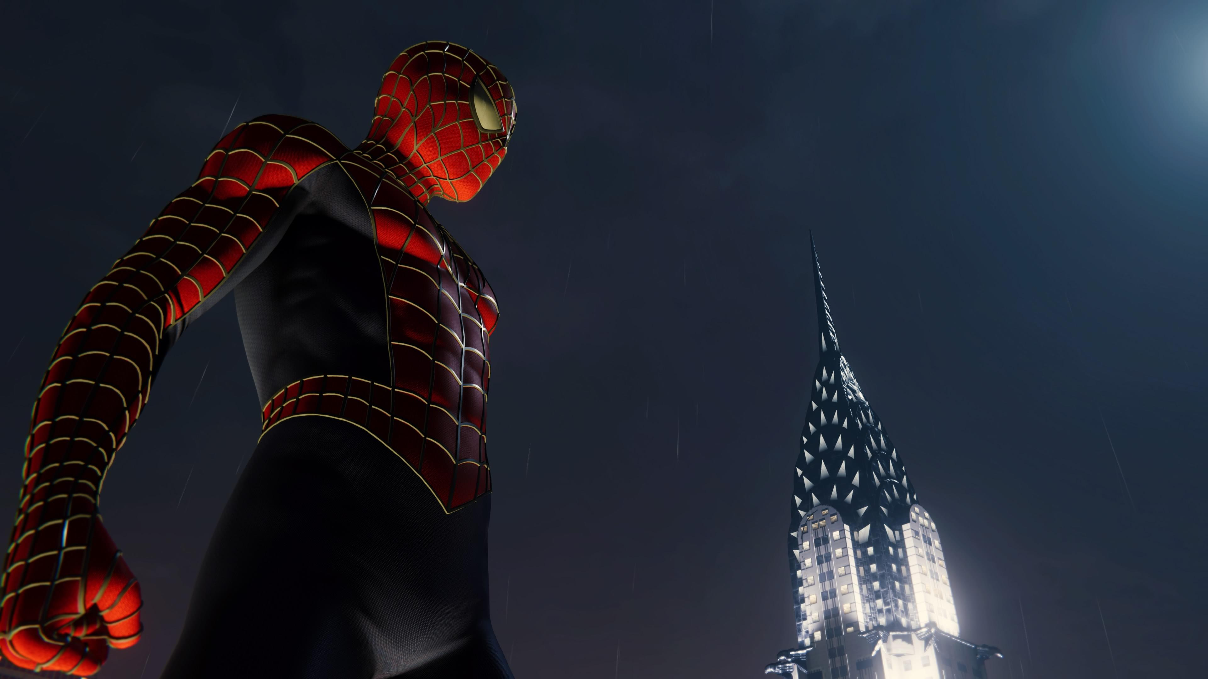 spiderman new york city 4k 1547938565 - Spiderman New York City 4k - superheroes wallpapers, spiderman wallpapers, spiderman ps4 wallpapers, ps games wallpapers, hd-wallpapers, games wallpapers, 4k-wallpapers, 2018 games wallpapers