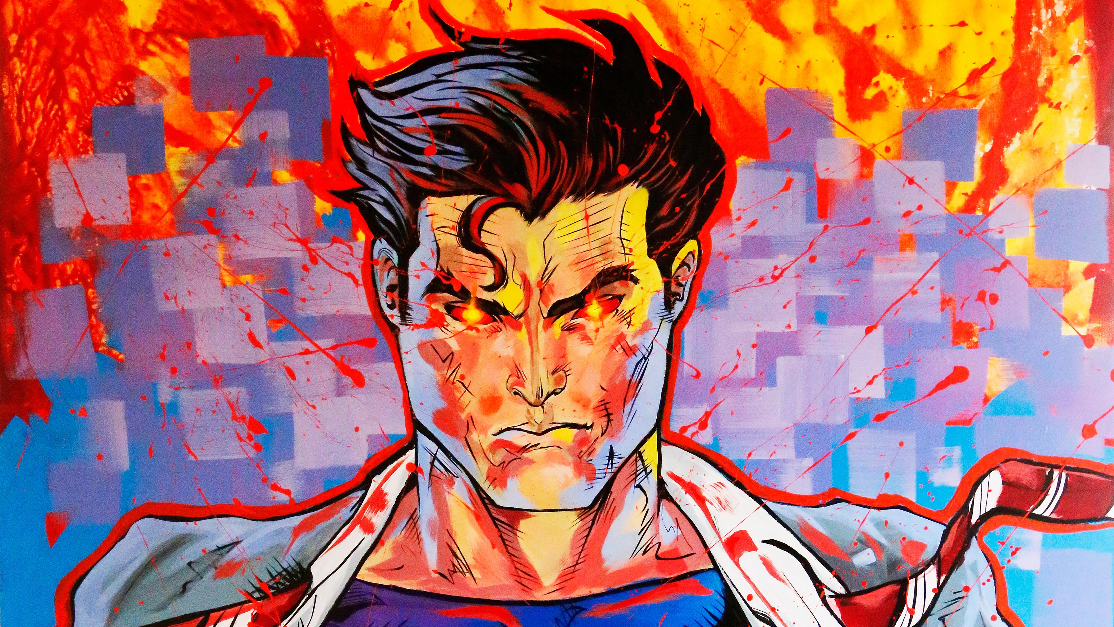superman fire 4k 1547936621 - Superman Fire 4k - superman wallpapers, superheroes wallpapers, hd-wallpapers, digital art wallpapers, artwork wallpapers, artist wallpapers, 5k wallpapers, 4k-wallpapers