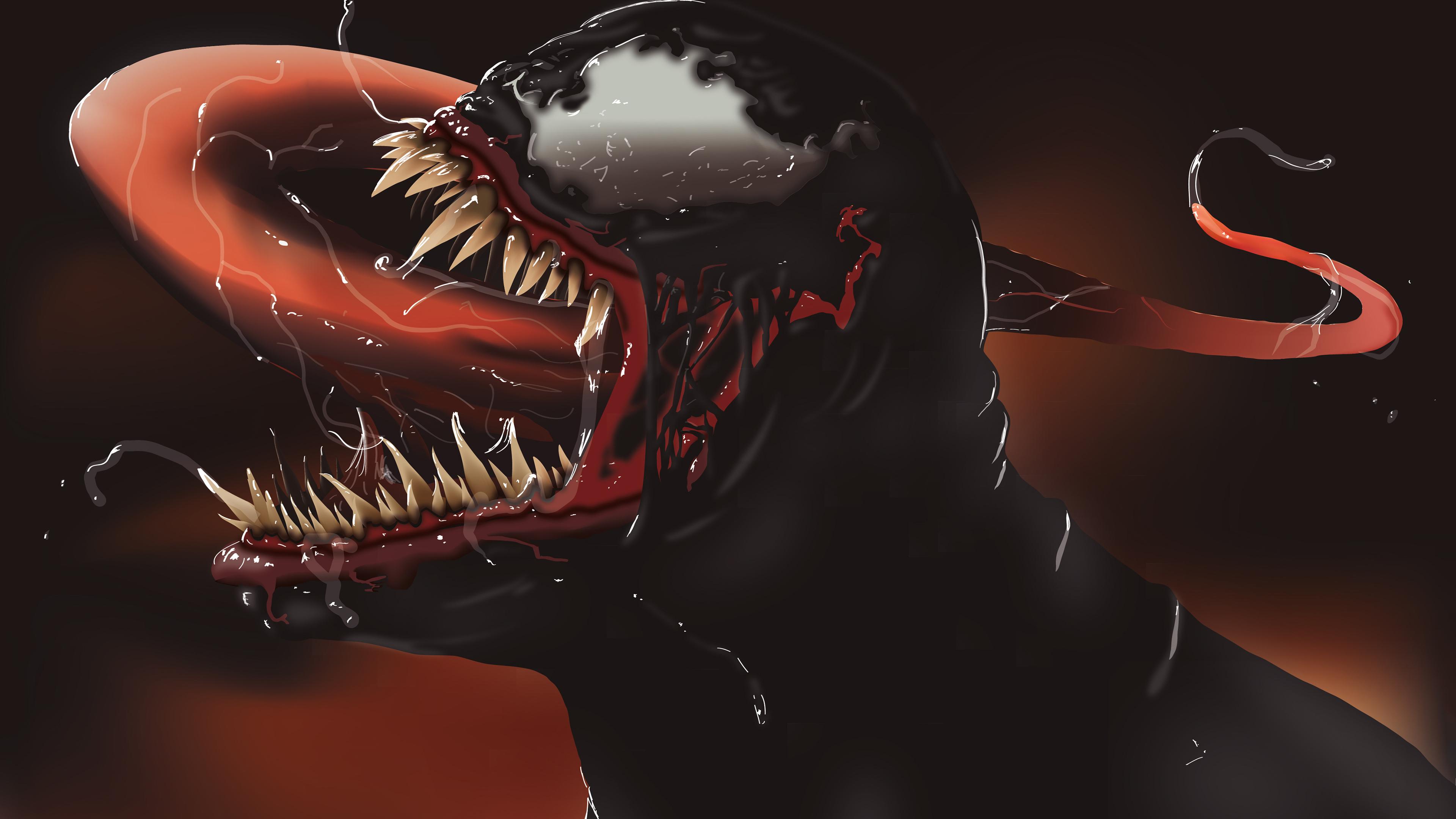 venom illustration new 4k 2019 1547506386 - Venom Illustration New 4k 2019 - Venom wallpapers, superheroes wallpapers, hd-wallpapers, behance wallpapers, artwork wallpapers, artist wallpapers, 4k-wallpapers
