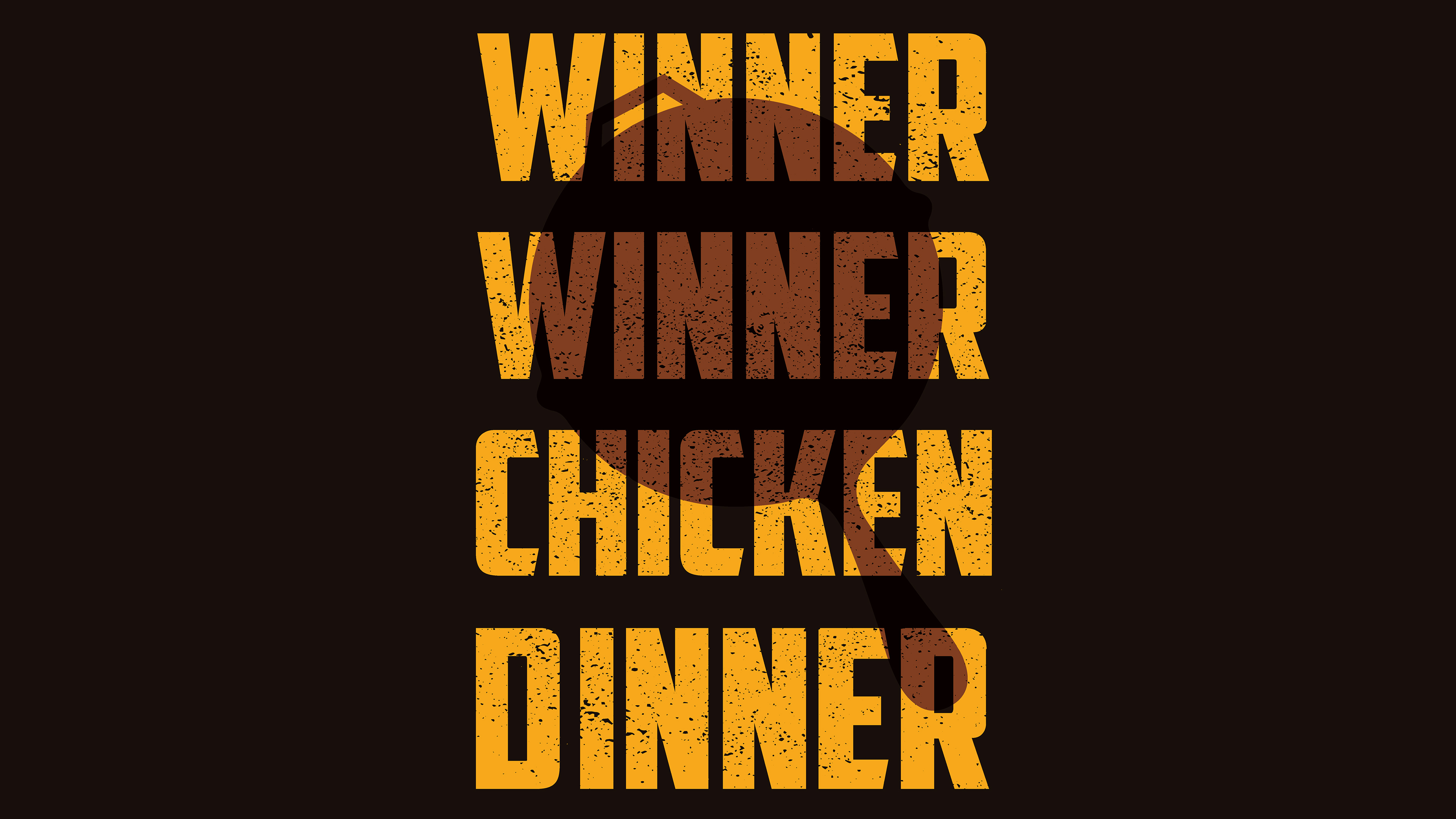 winner winner chicken dinner 4k 1547319329 - Winner Winner Chicken Dinner 4k - typography wallpapers, pubg wallpapers, playerunknowns battlegrounds wallpapers, hd-wallpapers, games wallpapers, 4k-wallpapers, 2018 games wallpapers