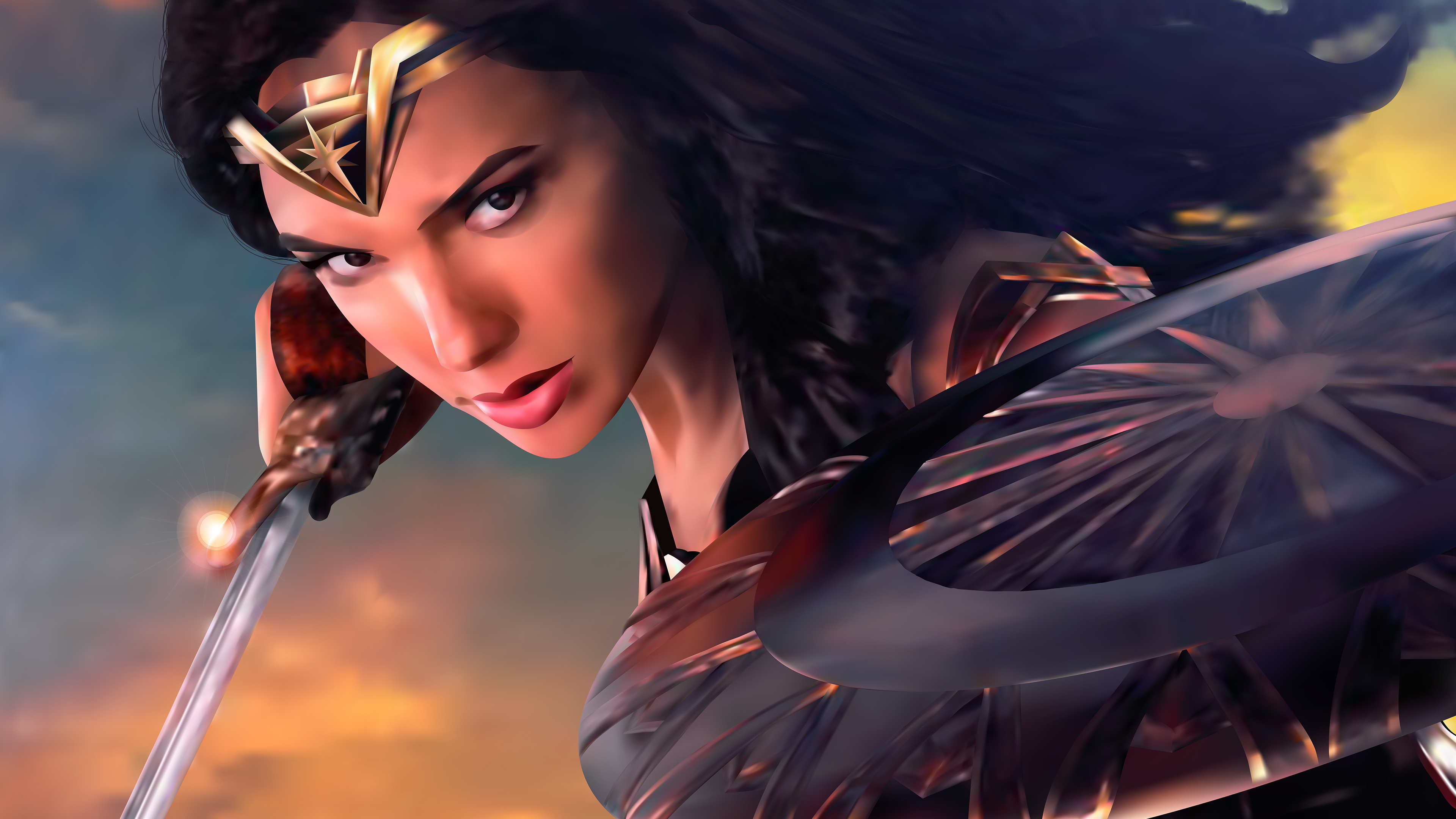 wonder woman digital artwork 4k new 1547506406 - Wonder Woman Digital Artwork 4k new - wonder woman wallpapers, superheroes wallpapers, hd-wallpapers, digital art wallpapers, behance wallpapers, artwork wallpapers, artist wallpapers, 4k-wallpapers