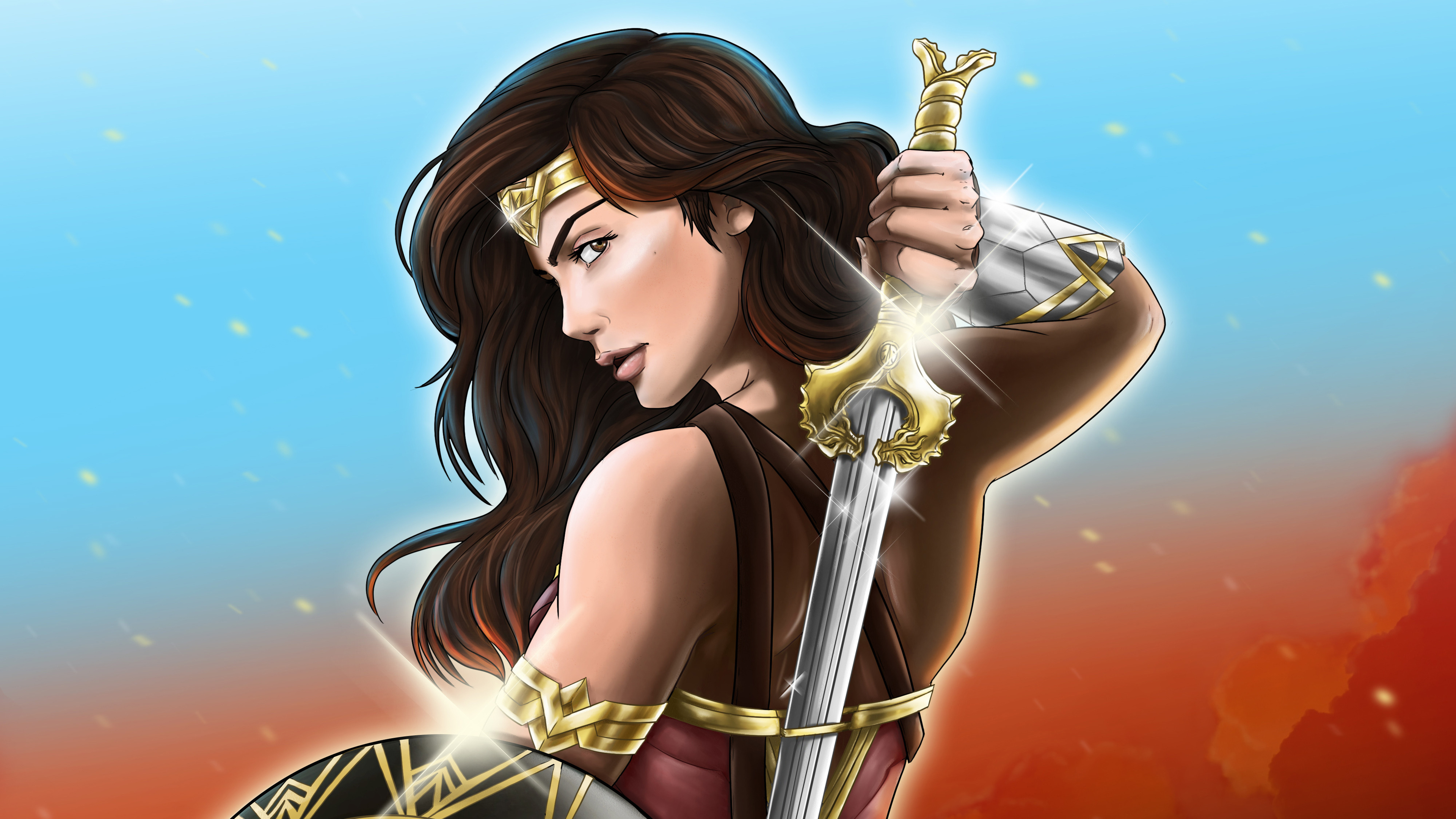wonder woman god killer sword 4k 1547319656 - Wonder Woman God Killer Sword 4k - wonder woman wallpapers, superheroes wallpapers, hd-wallpapers, digital art wallpapers, artwork wallpapers, artist wallpapers, 4k-wallpapers