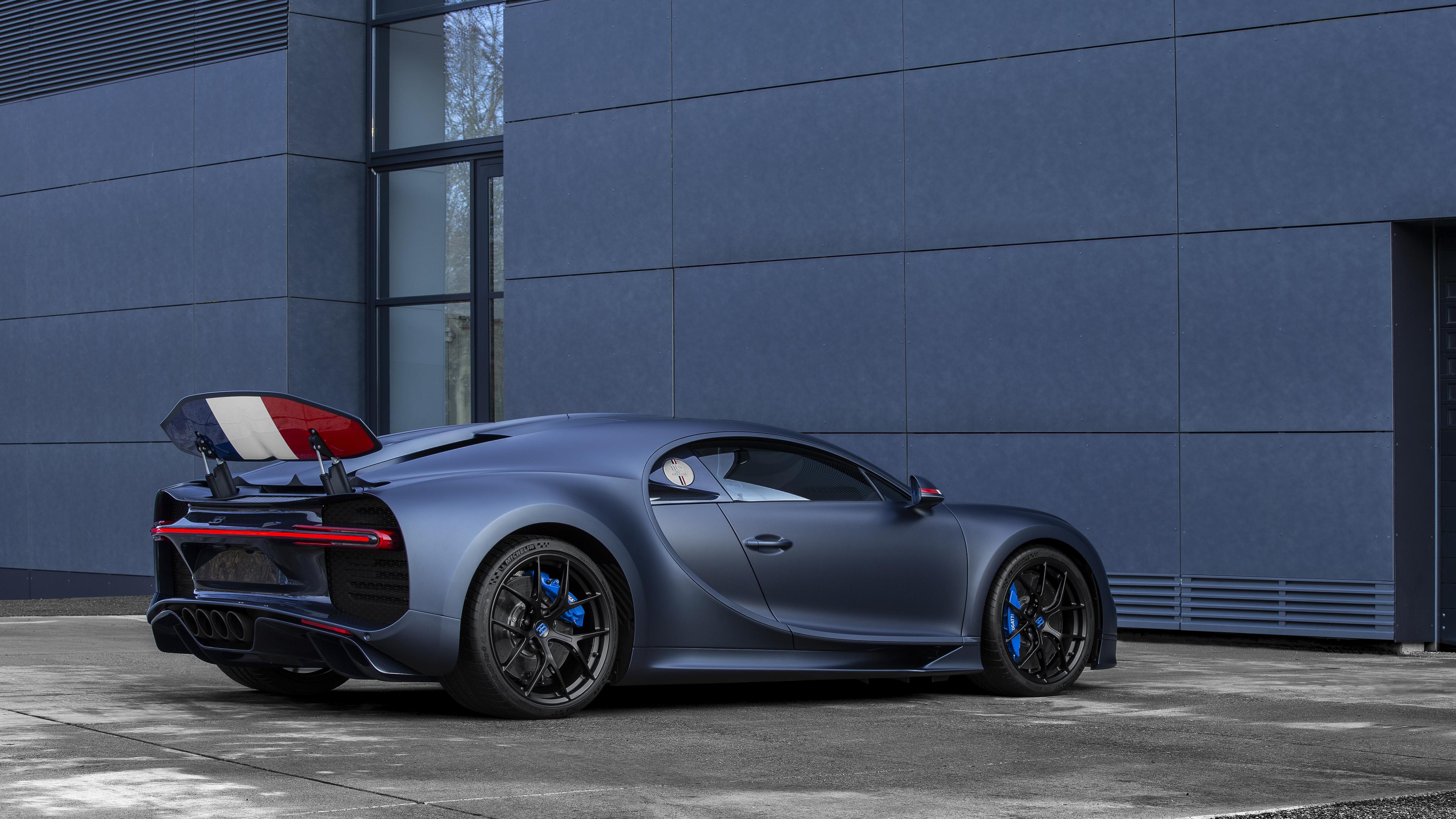 Wallpaper 4k 2019 Bugatti Chiron Sport 110 Ans Rear 4k 2019 Cars