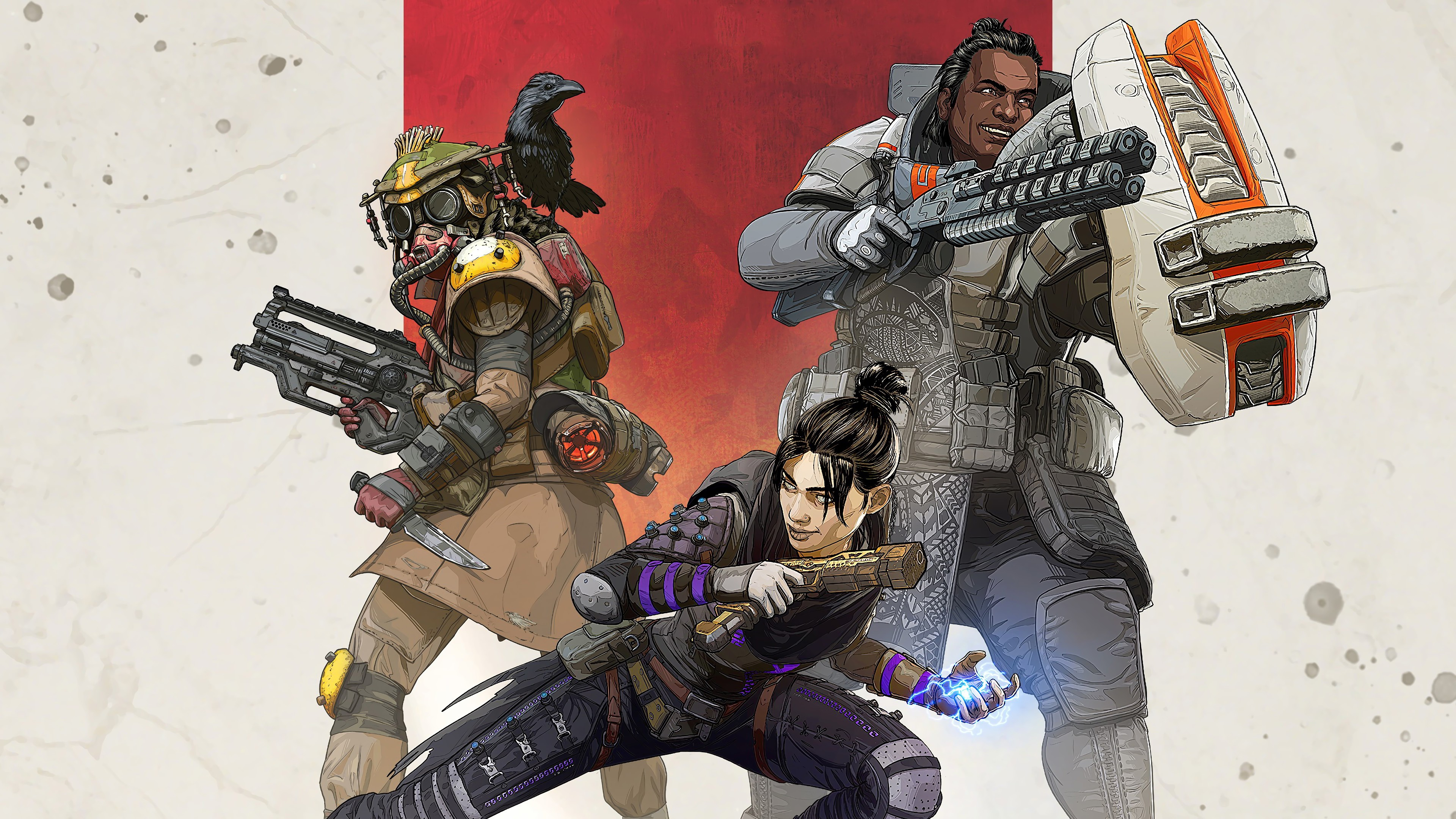 apex legends characters wraith gibraltar bloodhound 4K 21 - Apex Legends 2019 4k - Apex wallpaper 4k 2019, Apex phone wallpaper hd 4k, Apex legends wallpaper phone, Apex legends wallpaper hd 4kwallpaper, apex legends characters wallpaper hd 4k, Apex legends background hd 4k wallpaper, Apex Legends 4k wallpaper