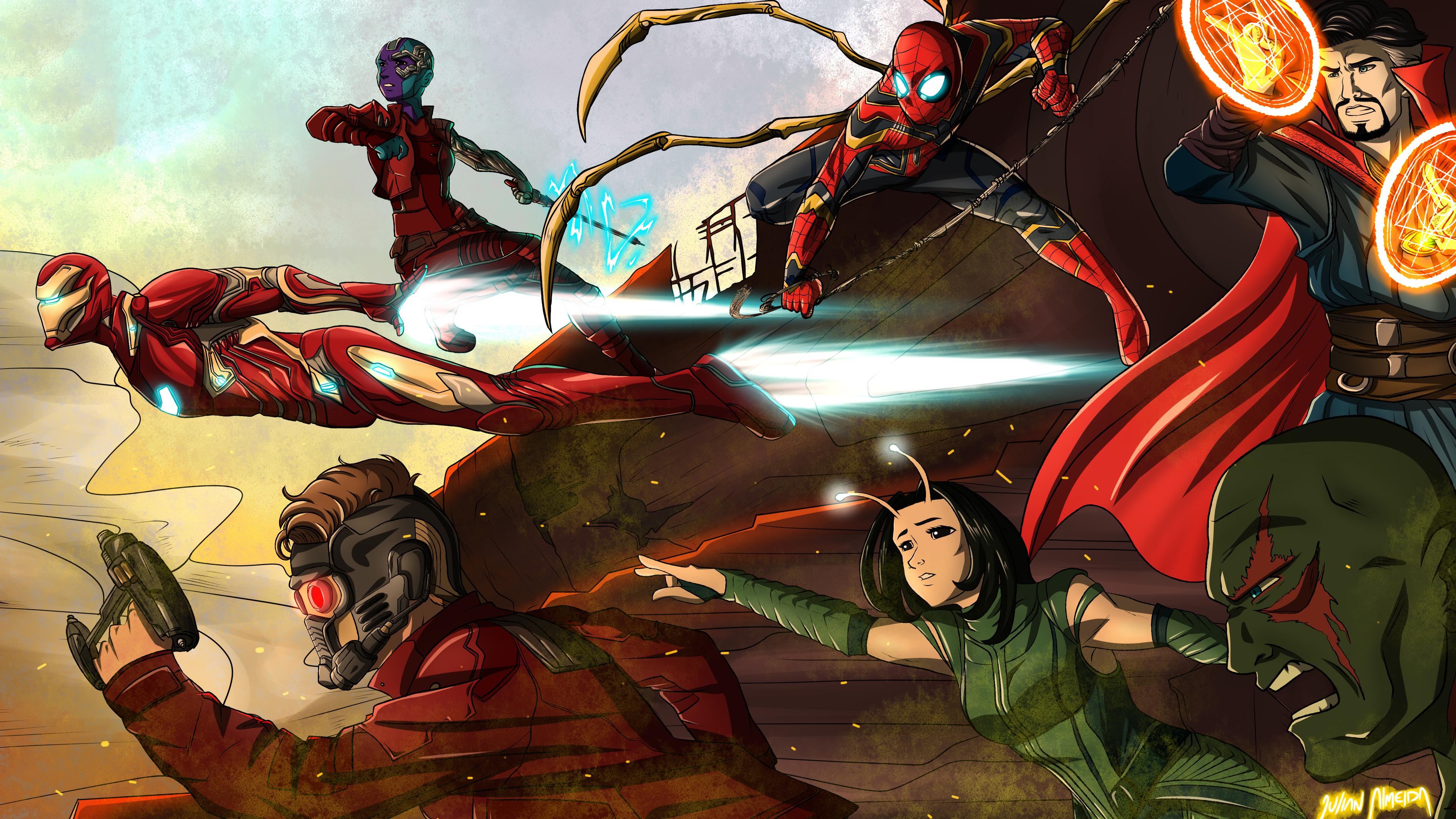 Avengers Infinity War Team 4k movies wallpapers, hd ...