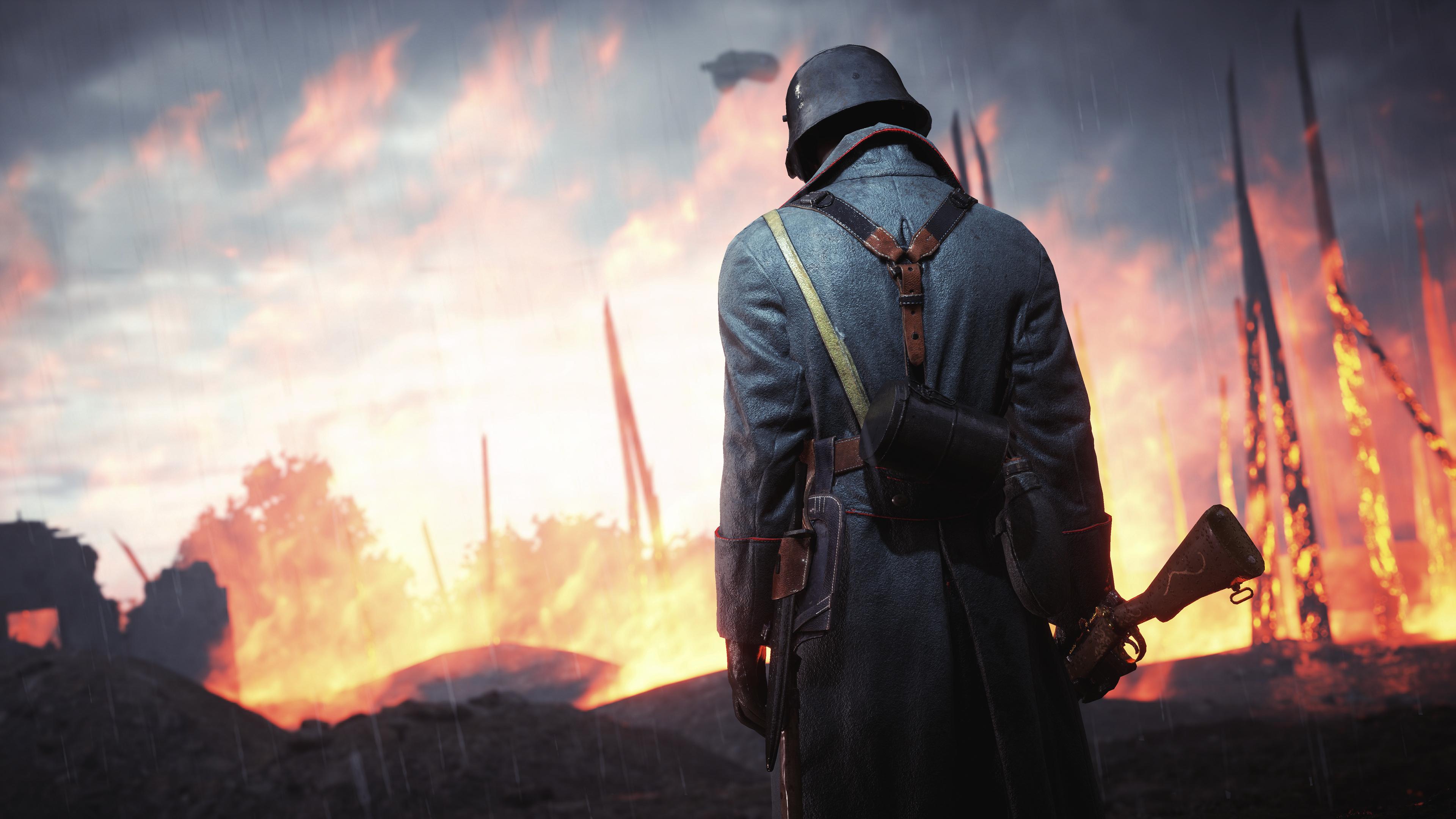 Wallpaper 4k Battlefield 1 Soldier 4k 2019 Games Wallpapers