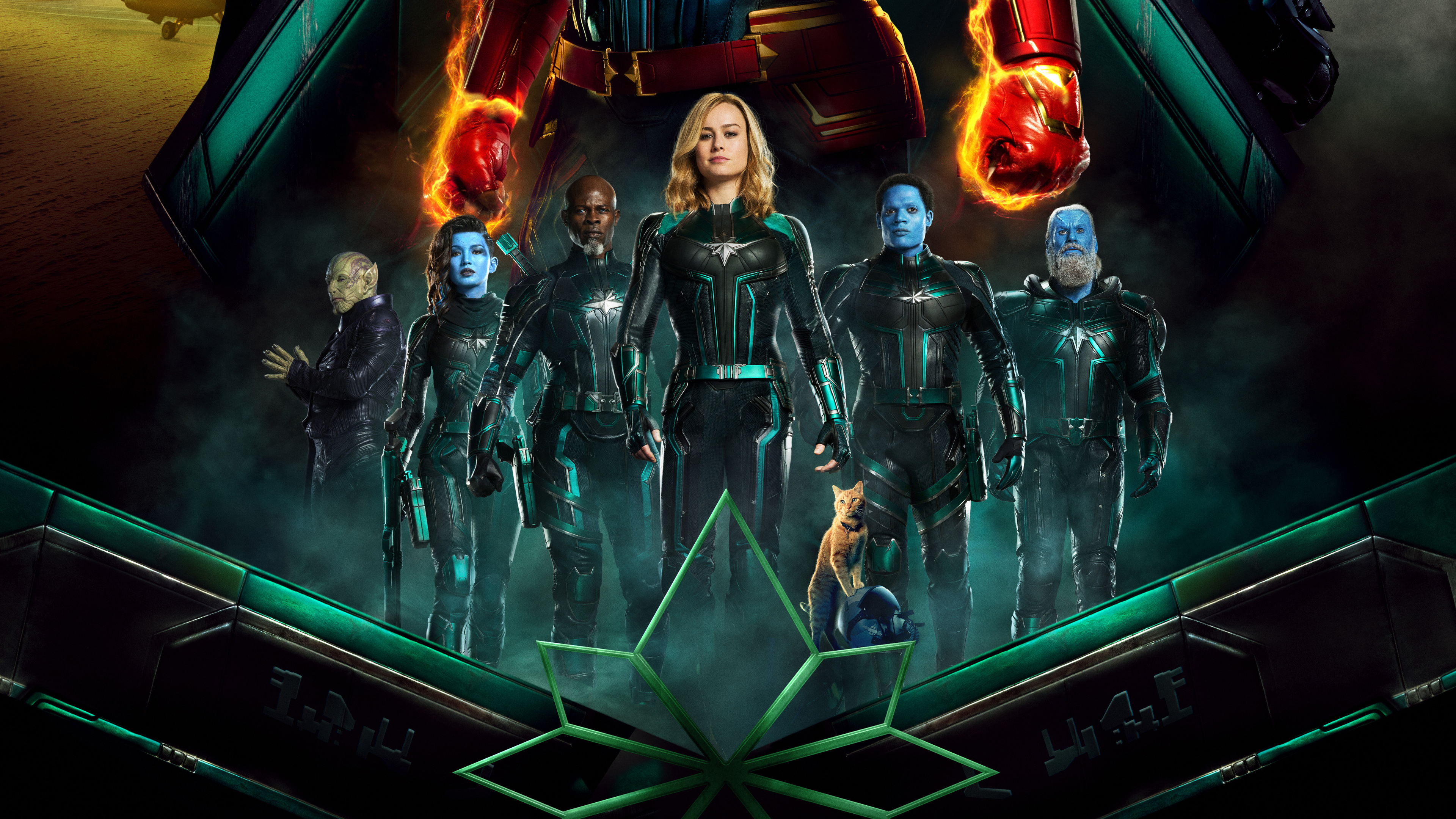 captain marvel 4k new 1550513654 - Captain Marvel 4k New - poster wallpapers, movies wallpapers, hd-wallpapers, carol danvers wallpapers, captain marvel wallpapers, captain marvel movie wallpapers, brie larson wallpapers, 5k wallpapers, 4k-wallpapers, 2019 movies wallpapers
