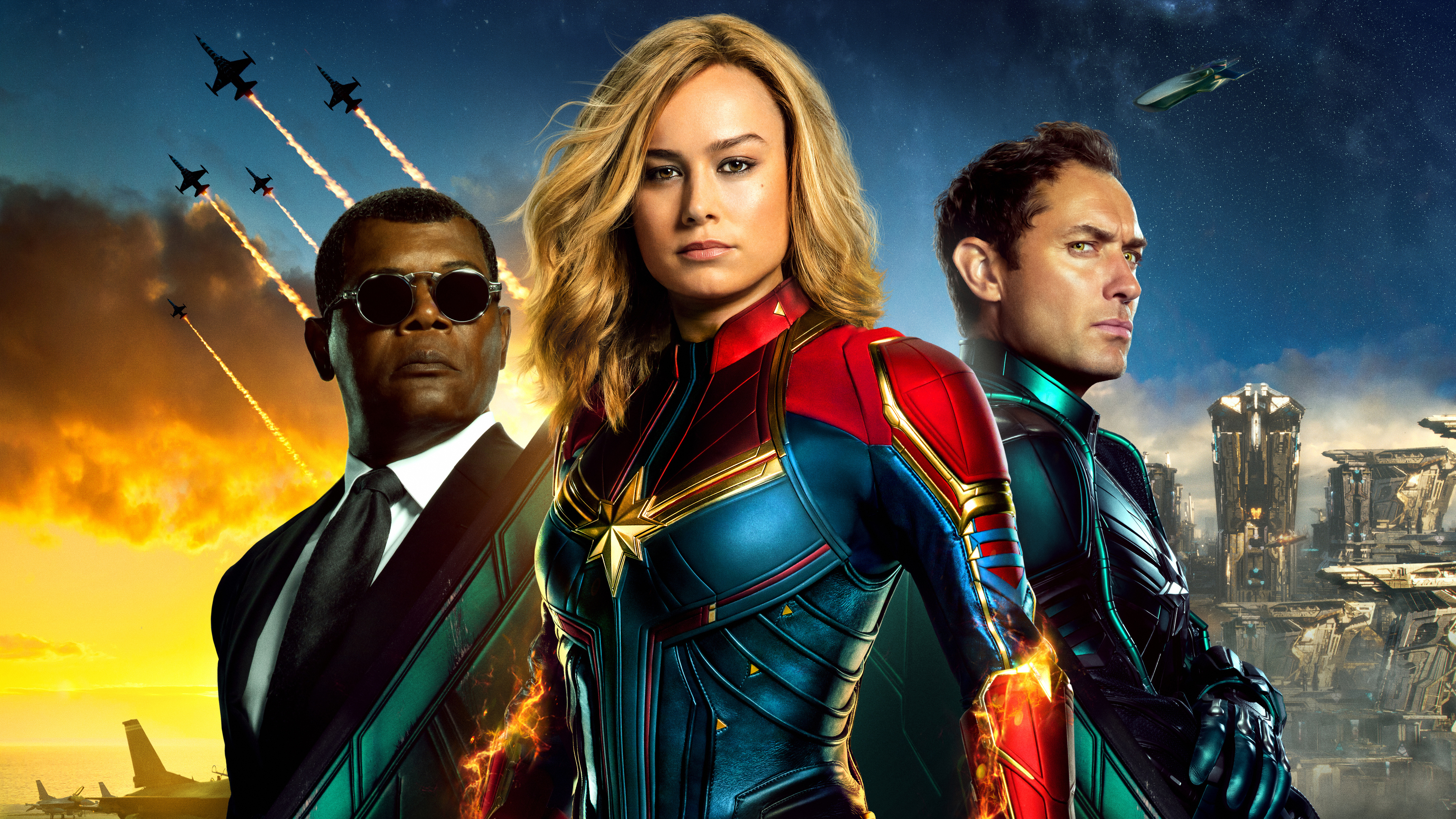 captain marvel new poster 4k 1550513648 - Captain Marvel New Poster 4k - poster wallpapers, movies wallpapers, hd-wallpapers, carol danvers wallpapers, captain marvel wallpapers, captain marvel movie wallpapers, brie larson wallpapers, 5k wallpapers, 4k-wallpapers, 2019 movies wallpapers