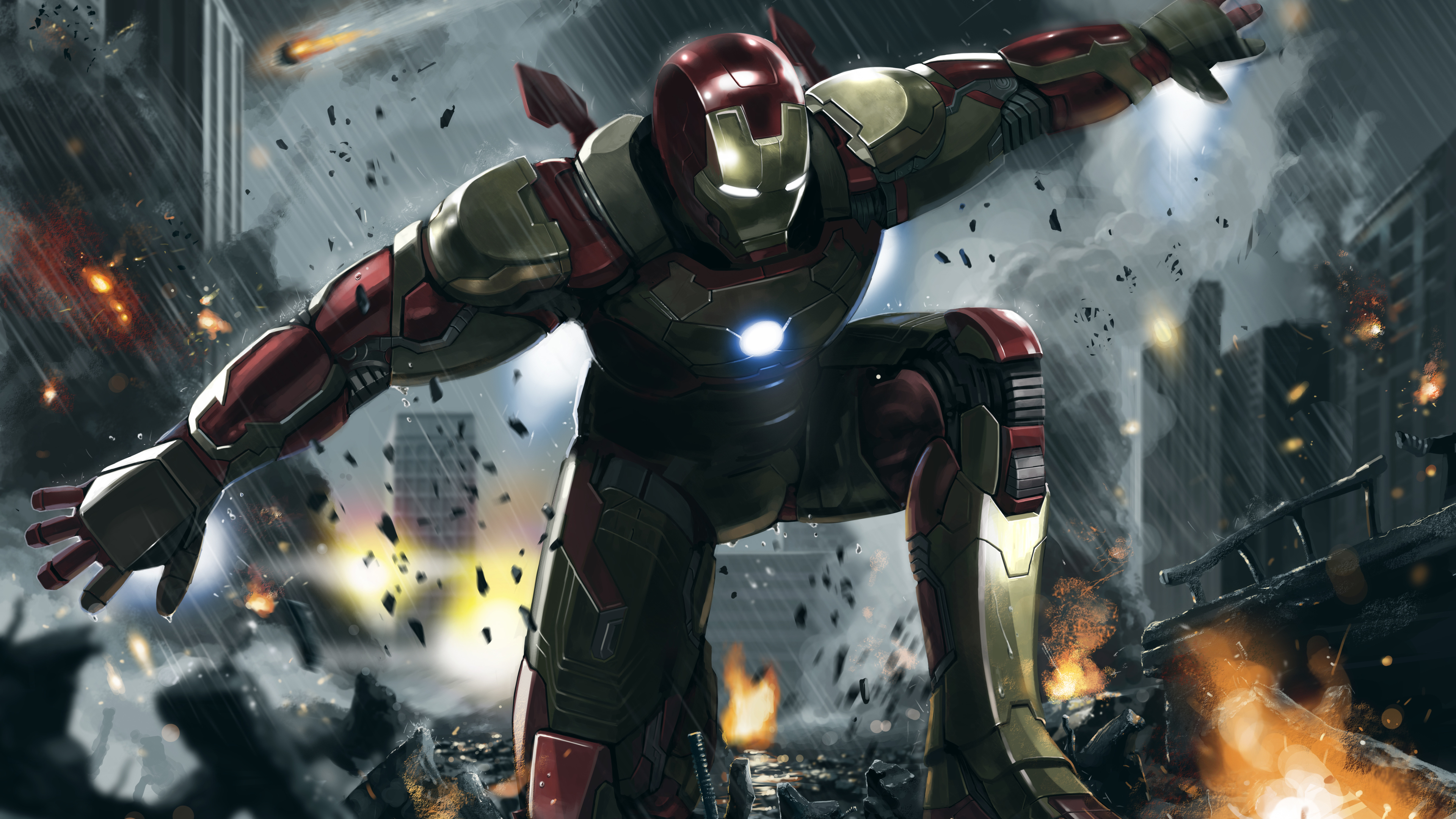 Wallpaper 4k Iron Man 3 Art 4k 4k Wallpapers Artwork Wallpapers