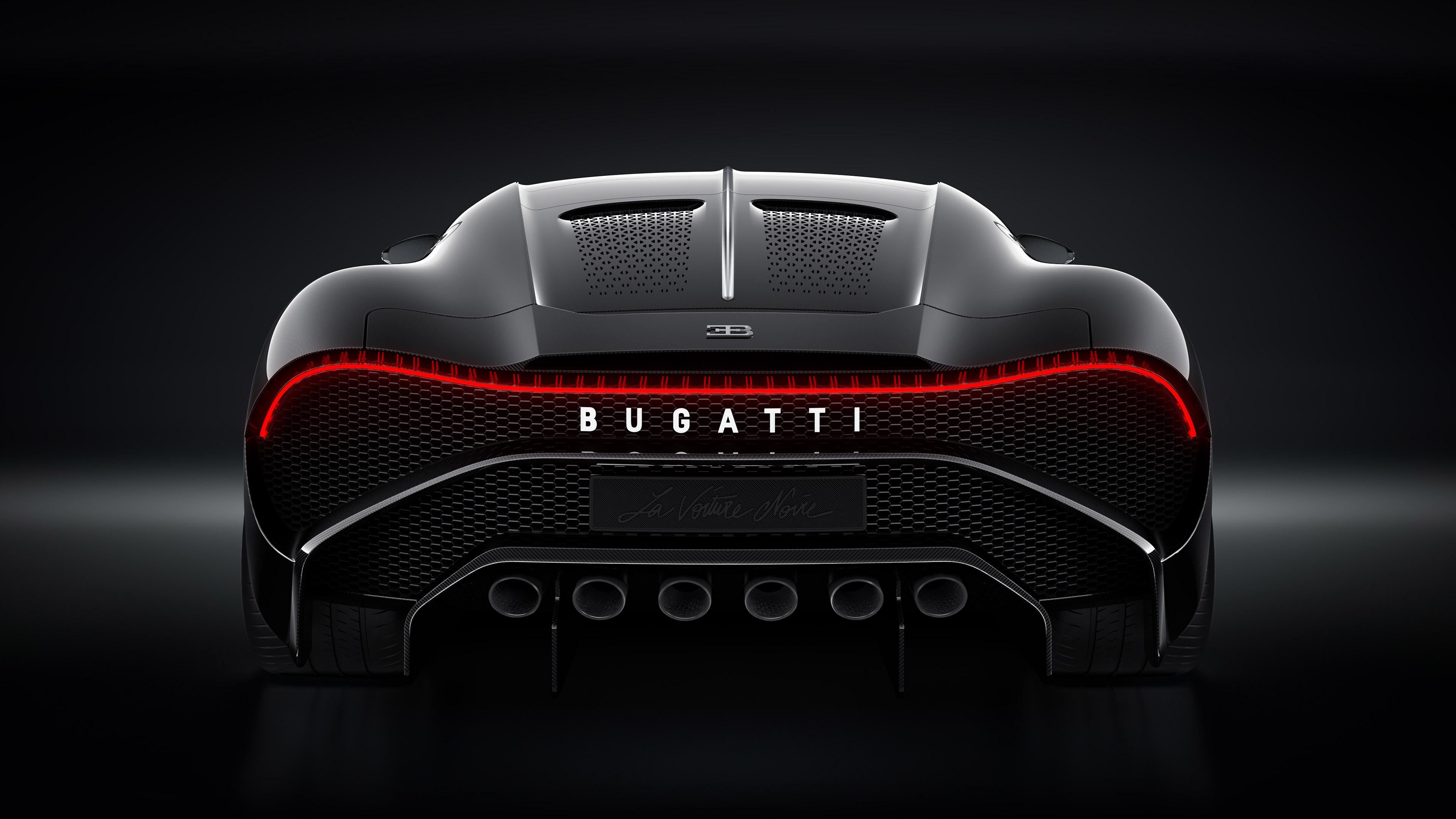 2019 Bugatti La Voiture Noire new 2019 - Bugatti La Voiture Noire Rear 2019 - bugatti wallpapers 4k, Bugatti voiture wallpaper 2019, Bugatti La wallpaper 4k, Bugatti La Voiture Noire 2019 4k wallpaper