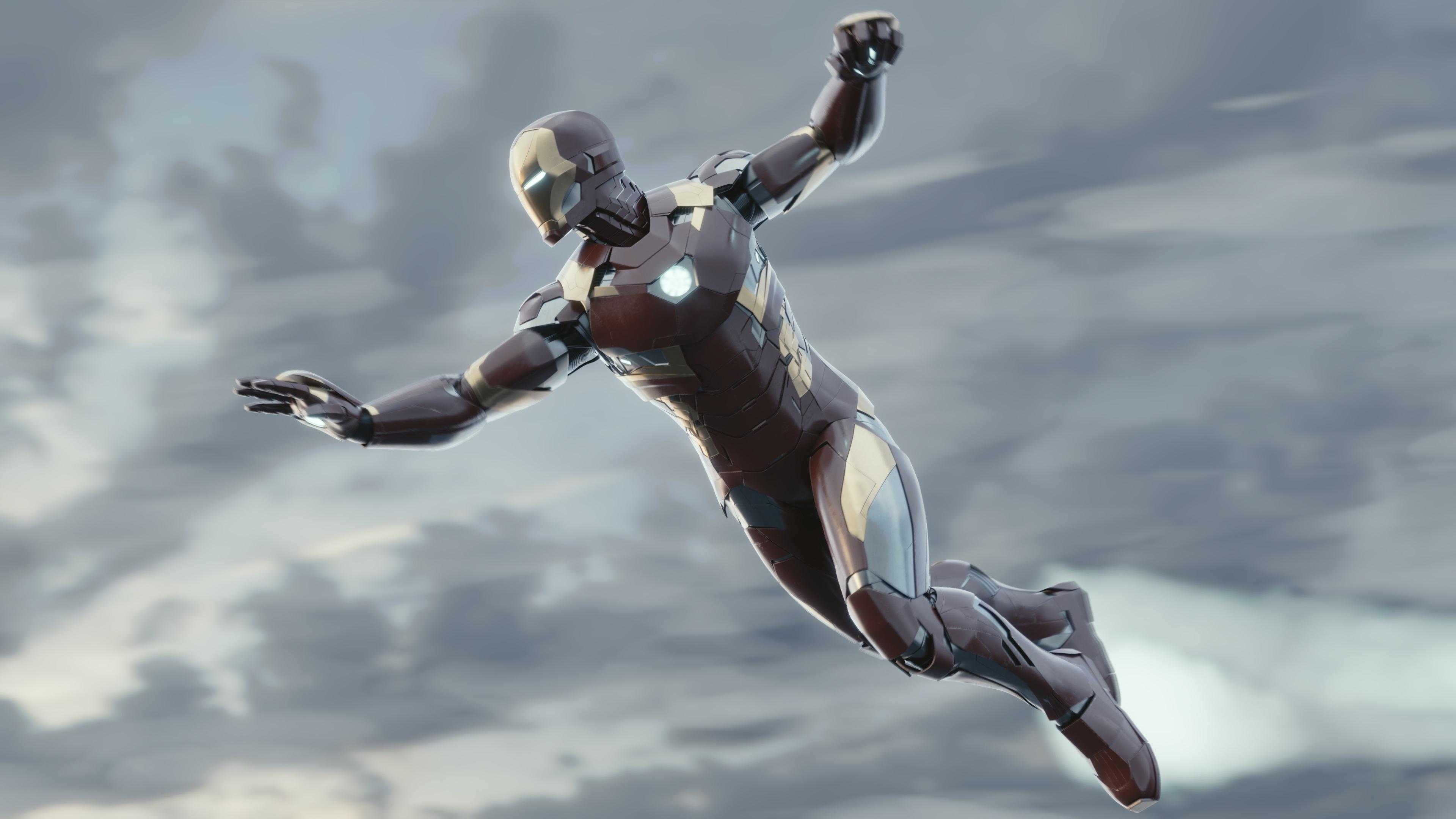 4k new iron man 1553071912 - 4k New Iron Man - superheroes wallpapers, iron man wallpapers, hd-wallpapers, deviantart wallpapers, artwork wallpapers, artist wallpapers, 4k-wallpapers