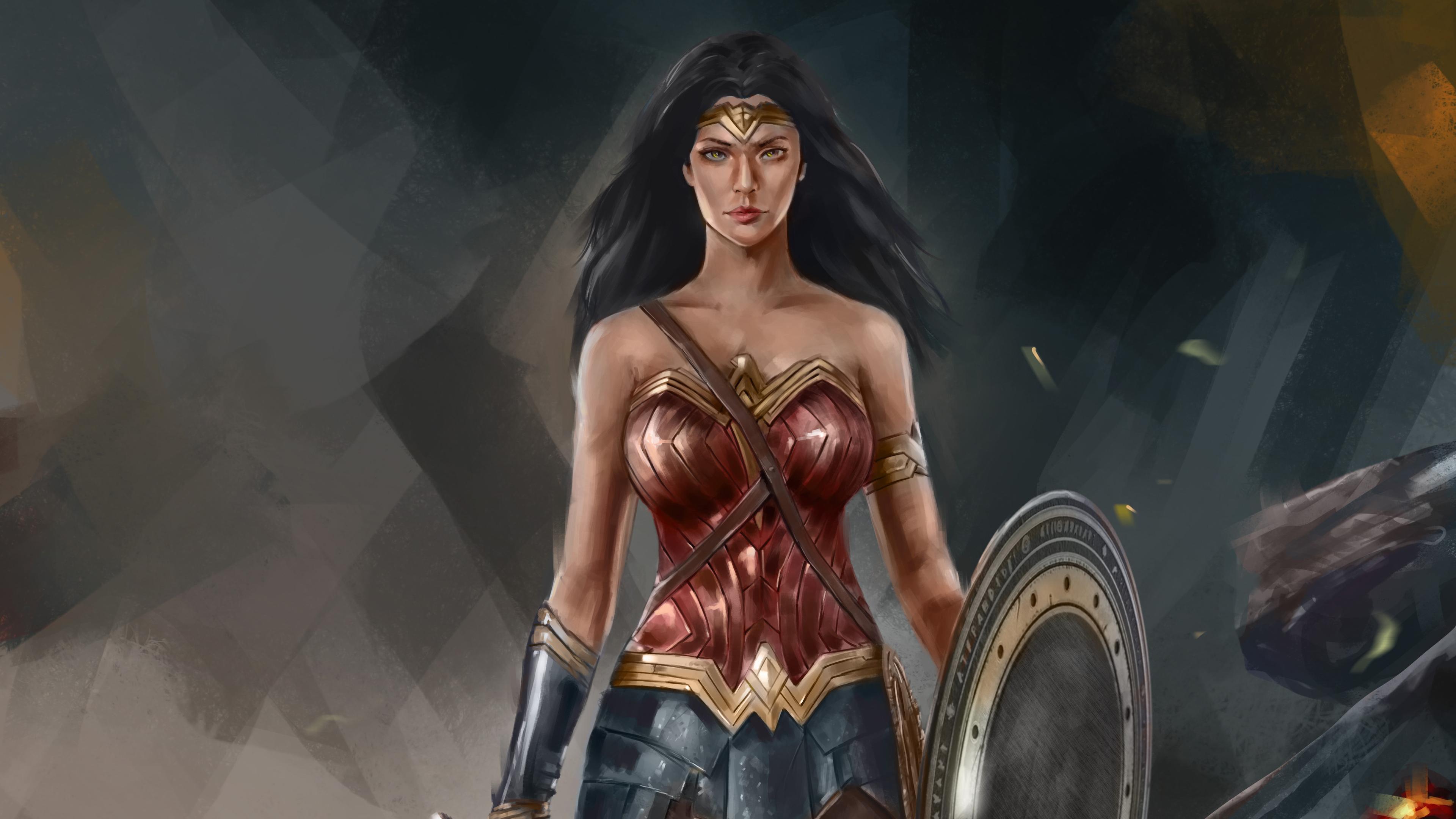 4k wonder woman artworks 1553071722 - 4k Wonder Woman Artworks - wonder woman wallpapers, superheroes wallpapers, hd-wallpapers, deviantart wallpapers, artwork wallpapers, artist wallpapers, 4k-wallpapers