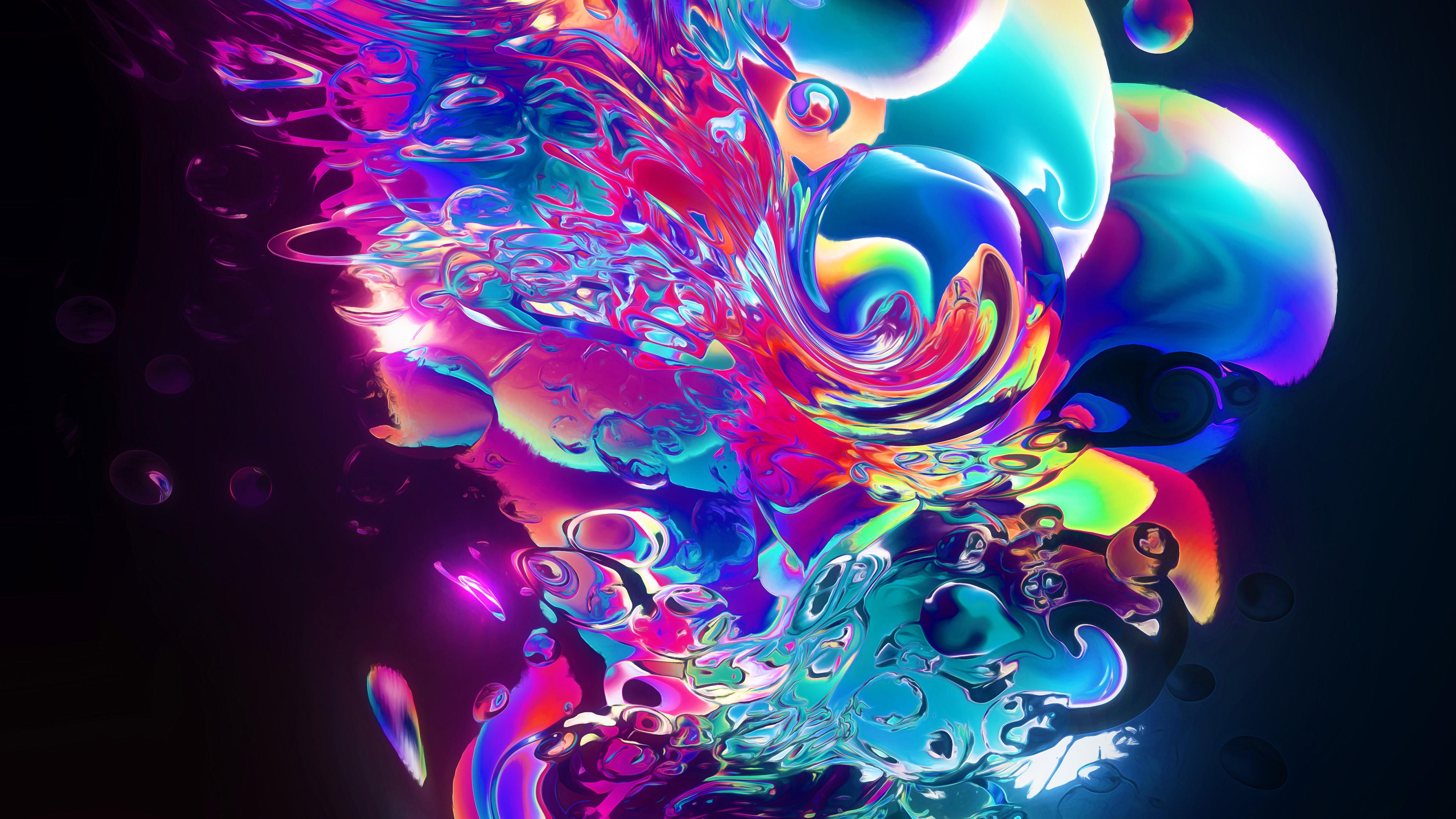 aqueous abstract art 4k 1553075413 - Aqueous Abstract Art 4k - hd-wallpapers, behance wallpapers, artist wallpapers, art wallpapers, abstract wallpapers, 4k-wallpapers