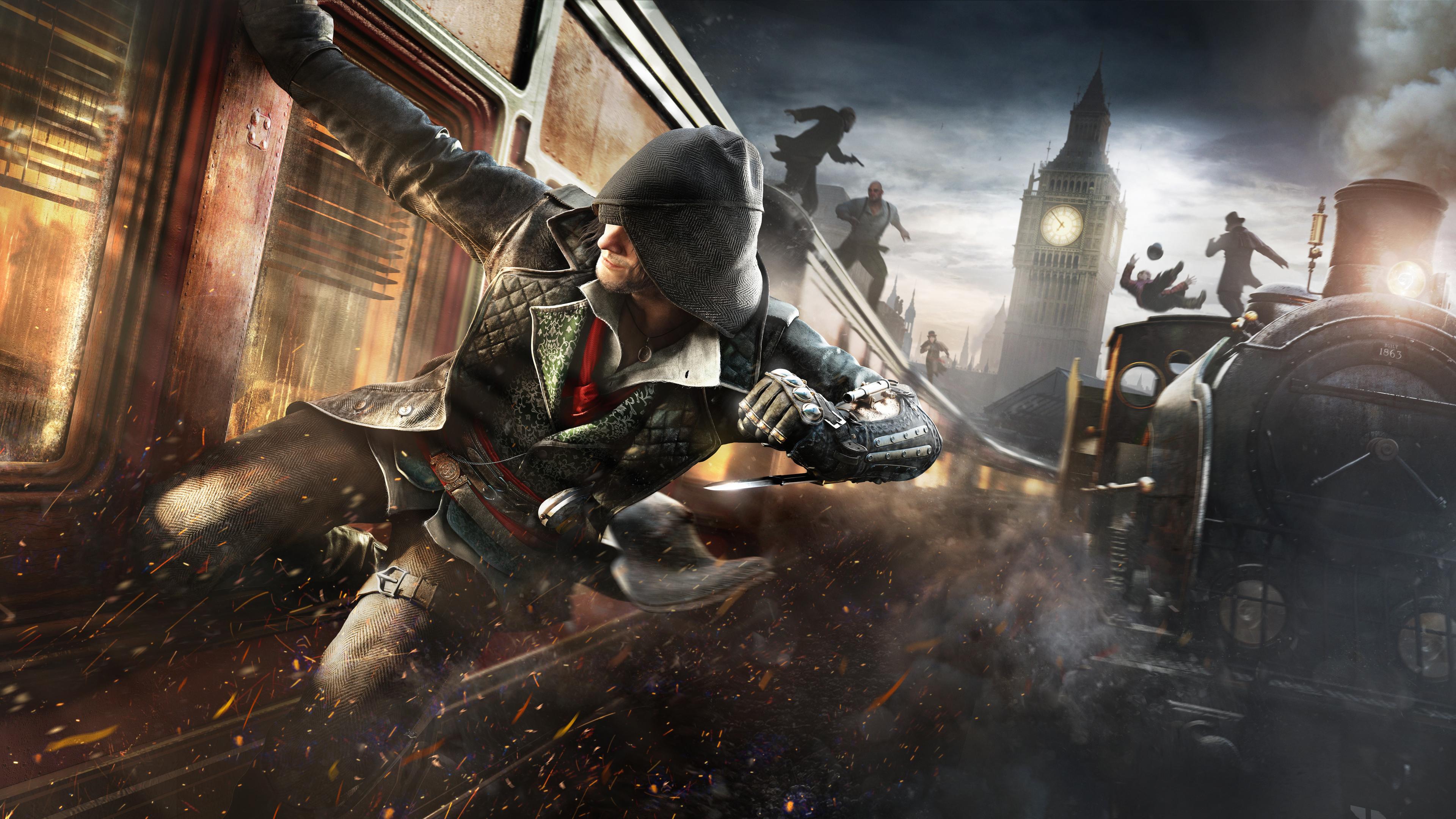 Wallpaper 4k Assassins Creed Syndicate Train Banner 4k 2019