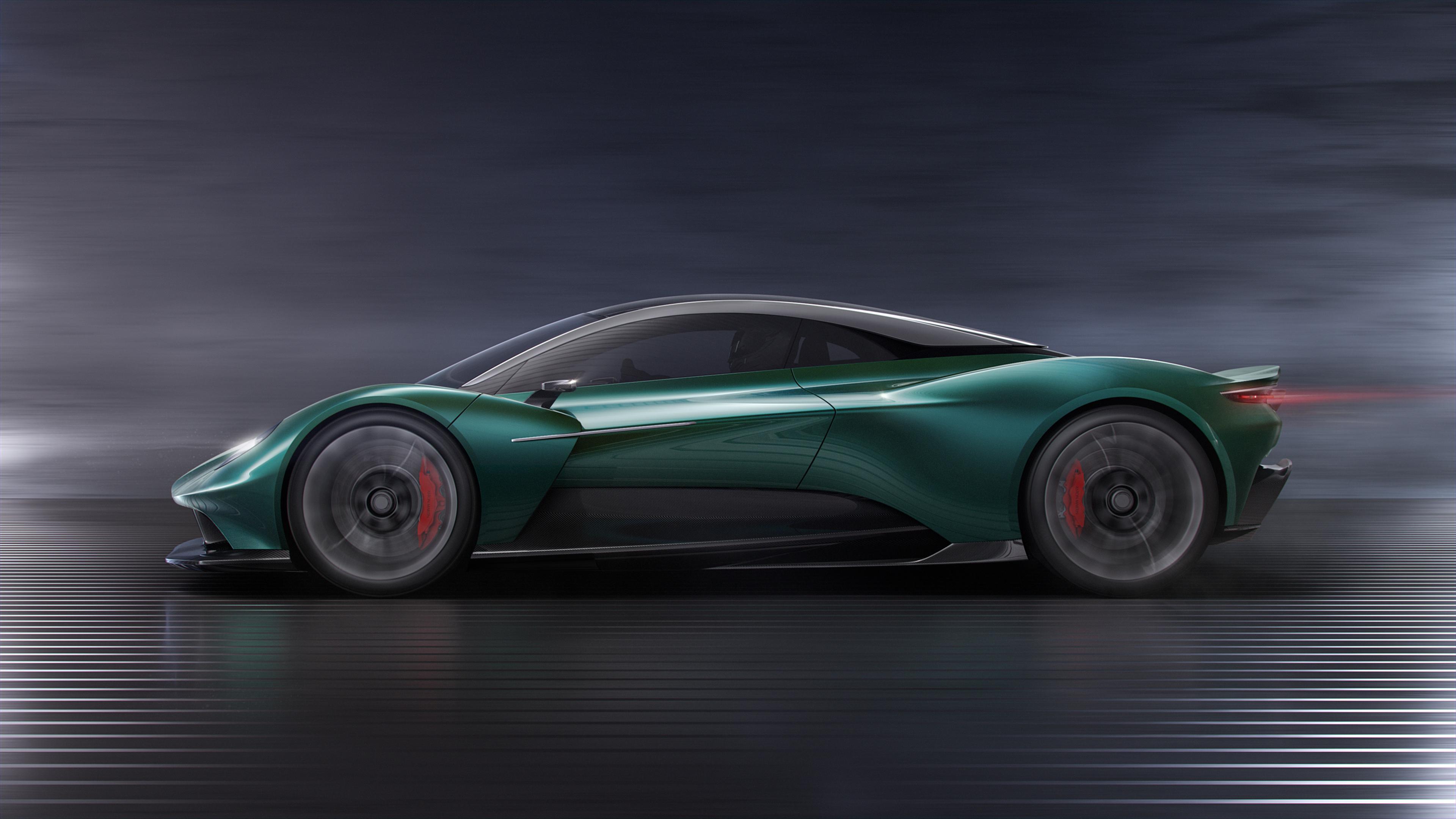 Wallpaper 4k Aston Martin Vanquish Vision Concept 2019 4k