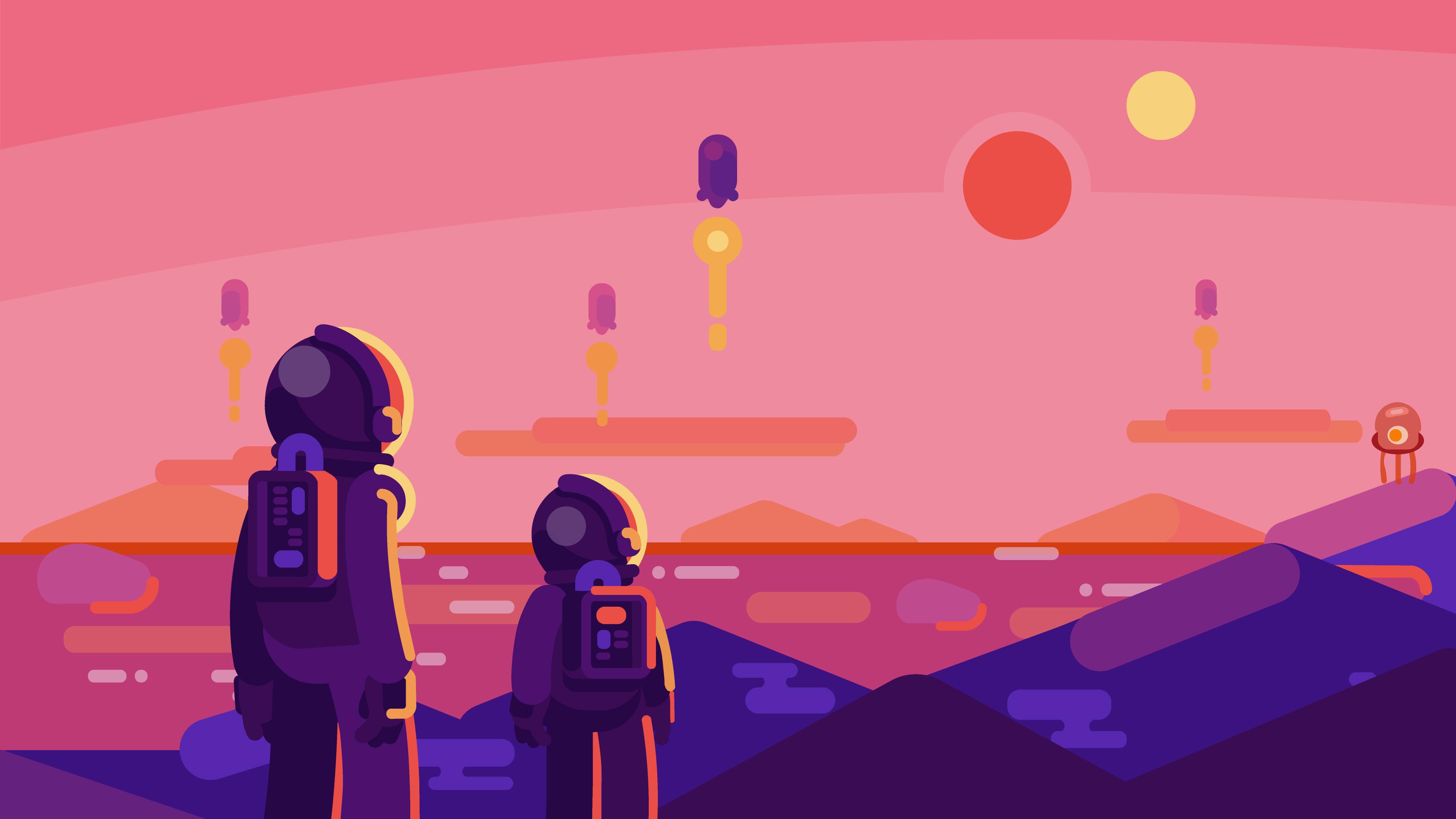 Wallpaper 4k Astronaut Landscape 4k 4k Wallpapers Artist Wallpapers Artwork Wallpapers Astronaut Wallpapers Digital Art Wallpapers Hd Wallpapers
