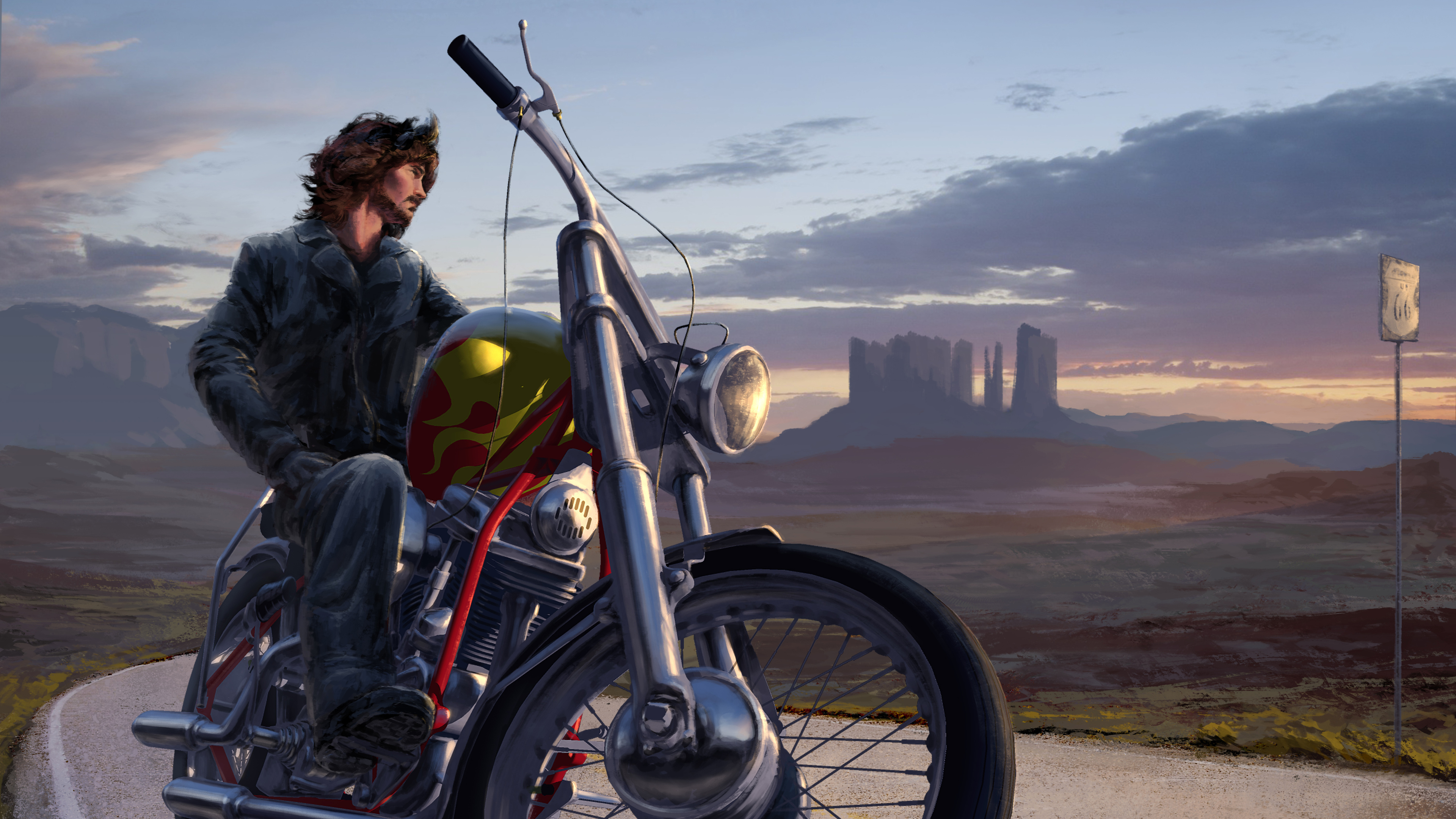bike rider digital art 4k 1551642034 - Bike Rider Digital Art 4k - hd-wallpapers, digital art wallpapers, deviantart wallpapers, bikes wallpapers, biker wallpapers, artwork wallpapers, artist wallpapers, 5k wallpapers, 4k-wallpapers