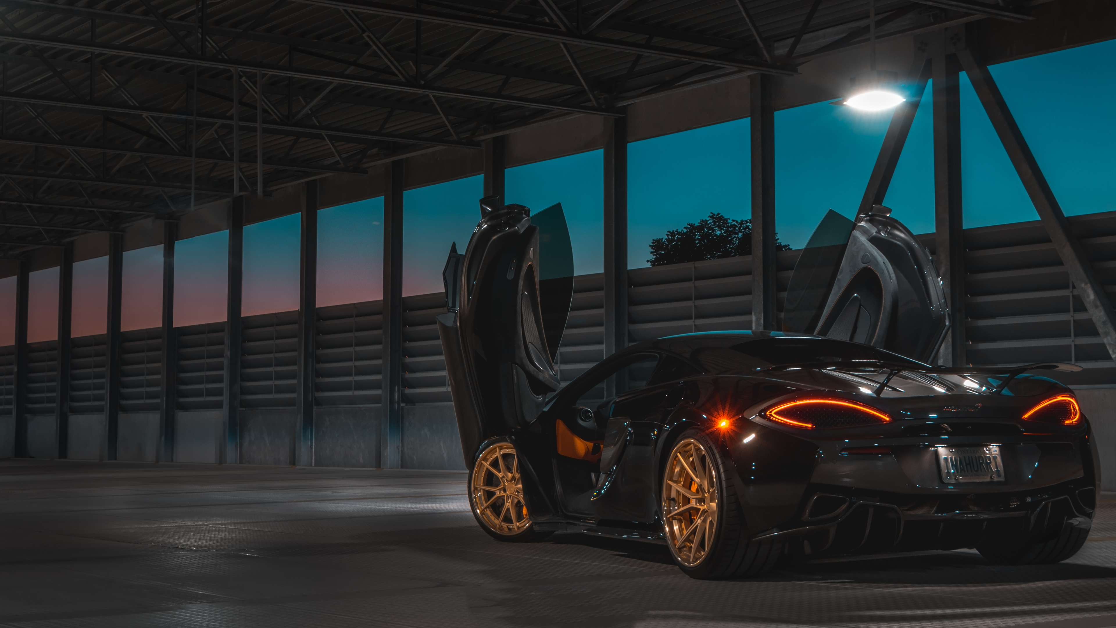 black mclaren in the night 4k 1553075743 - Black Mclaren In The Night 4k - mclaren wallpapers, hd-wallpapers, cars wallpapers, 4k-wallpapers
