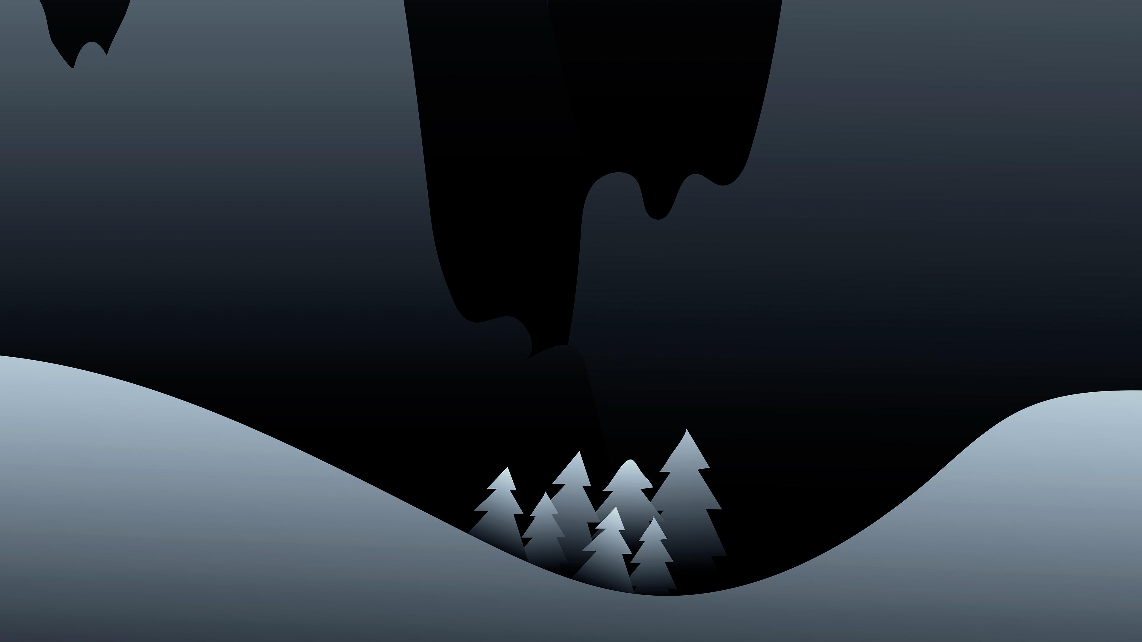 dark night minimalist 4k 1551641793 - Dark Night Minimalist 4k - night wallpapers, minimalist wallpapers, minimalism wallpapers, hd-wallpapers, dark wallpapers, behance wallpapers, artwork wallpapers, artist wallpapers, 4k-wallpapers