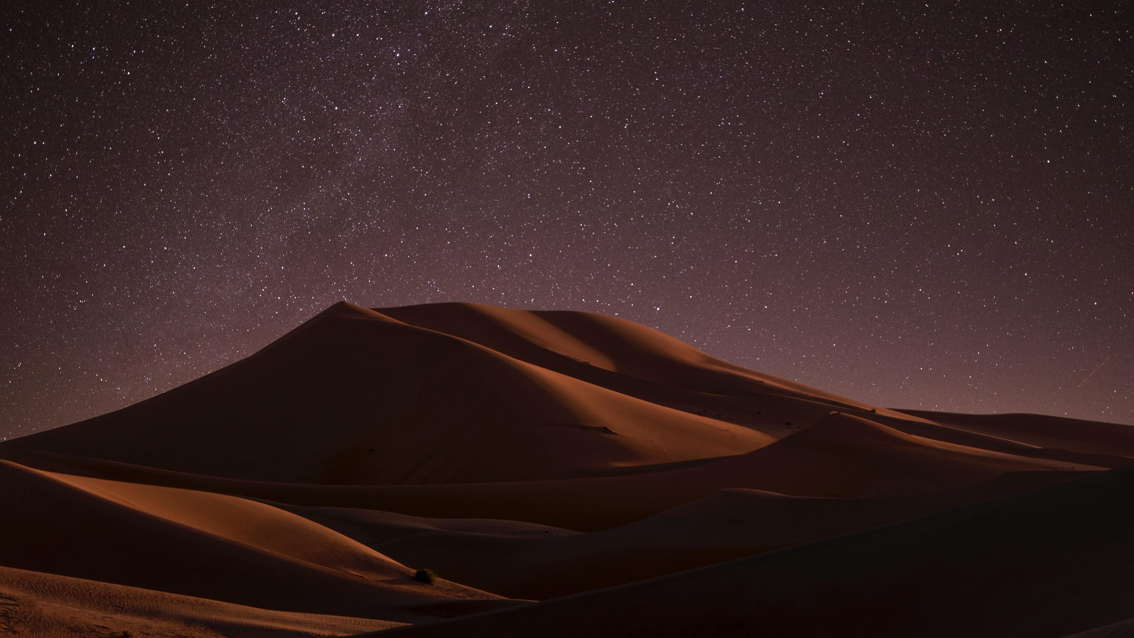 desert during night time 4k 1551644401 - Desert During Night Time 4k - night wallpapers, nature wallpapers, hd-wallpapers, desert wallpapers, 4k-wallpapers