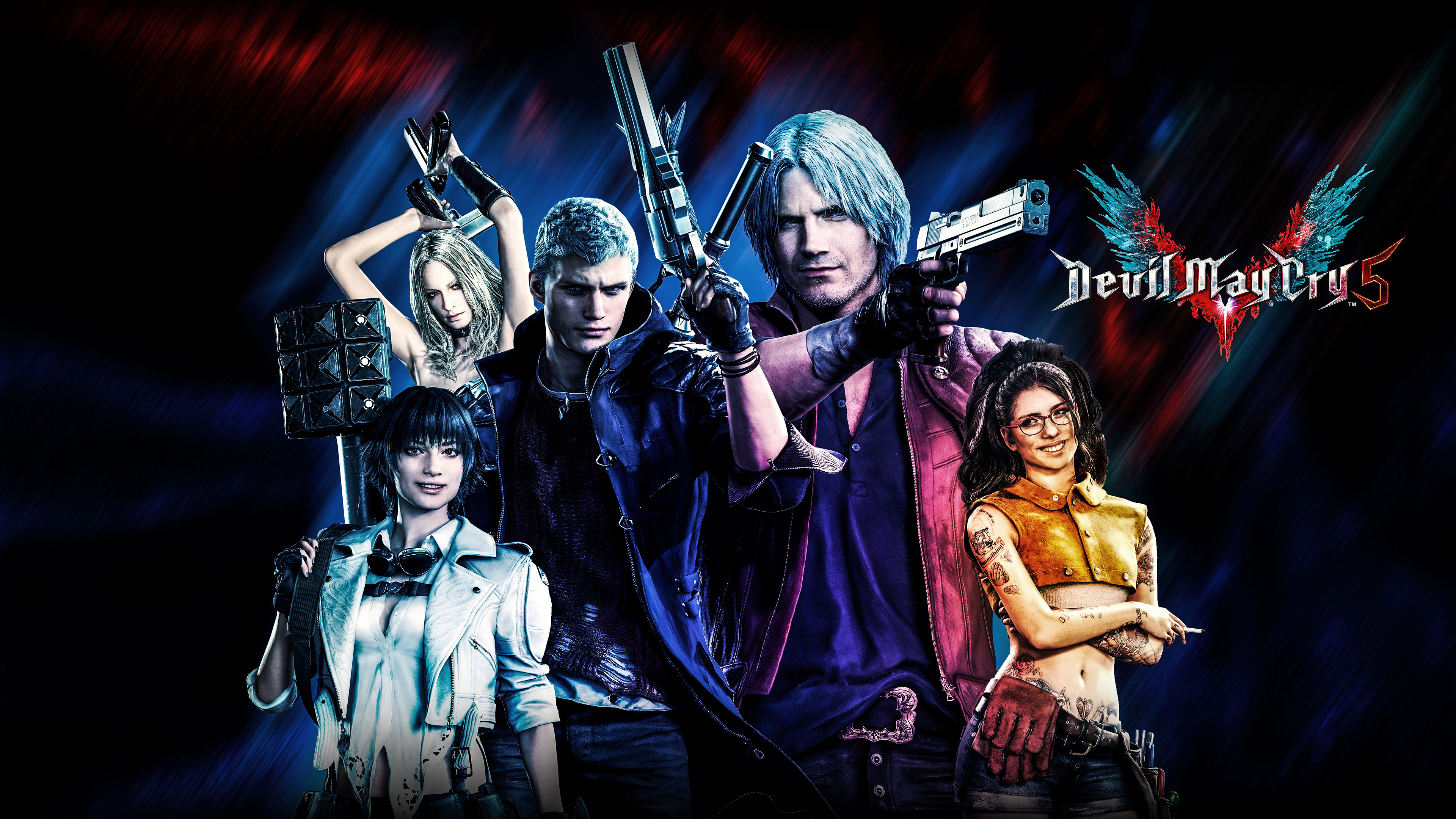 Wallpaper 4k Devil May Cry 2019 4k 2019 Games Wallpapers 4k