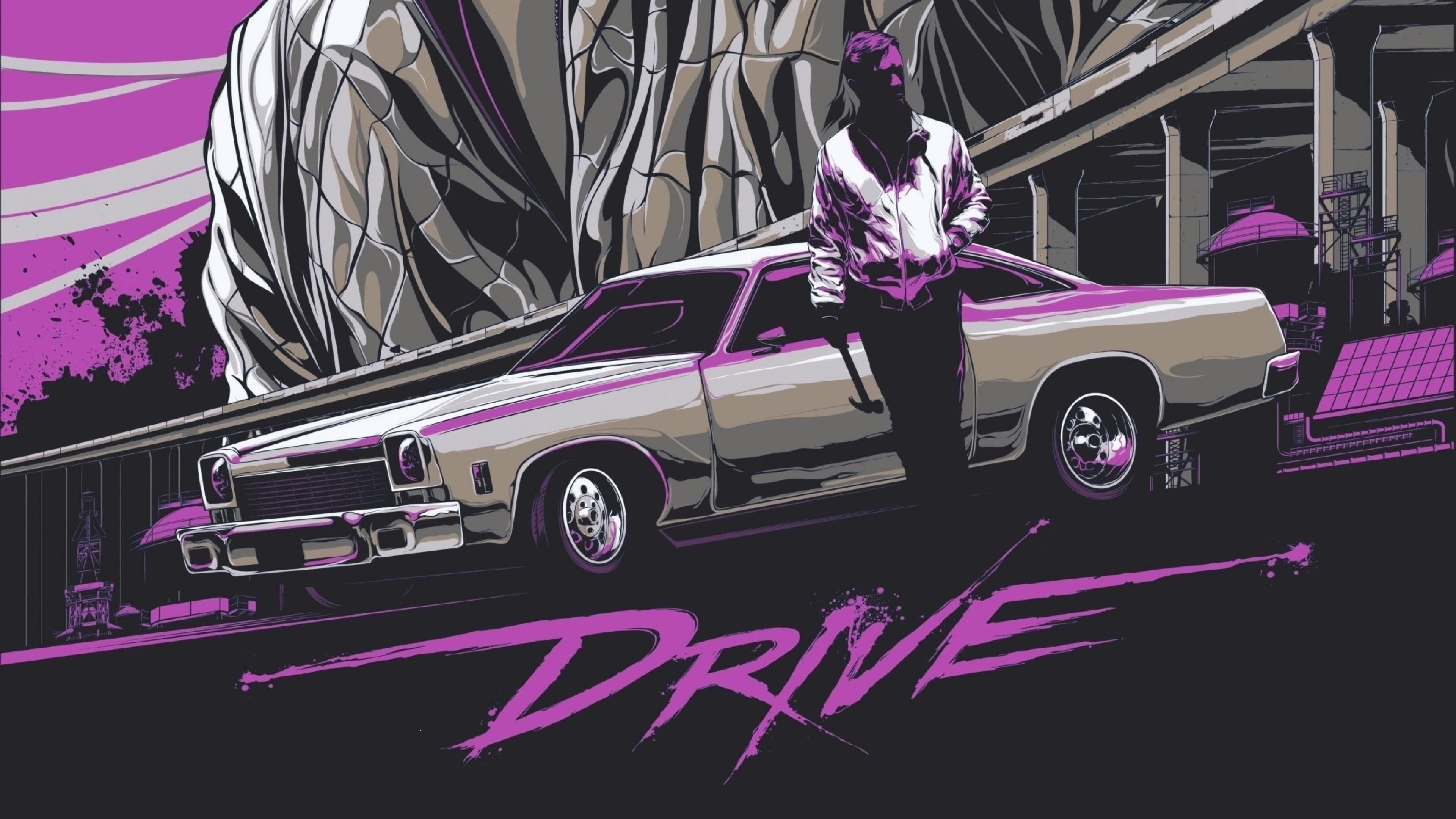 drive retrowave 4k 1551642879 - Drive Retrowave 4k - retrowave wallpapers, hd-wallpapers, digital art wallpapers, artwork wallpapers, artist wallpapers, 4k-wallpapers