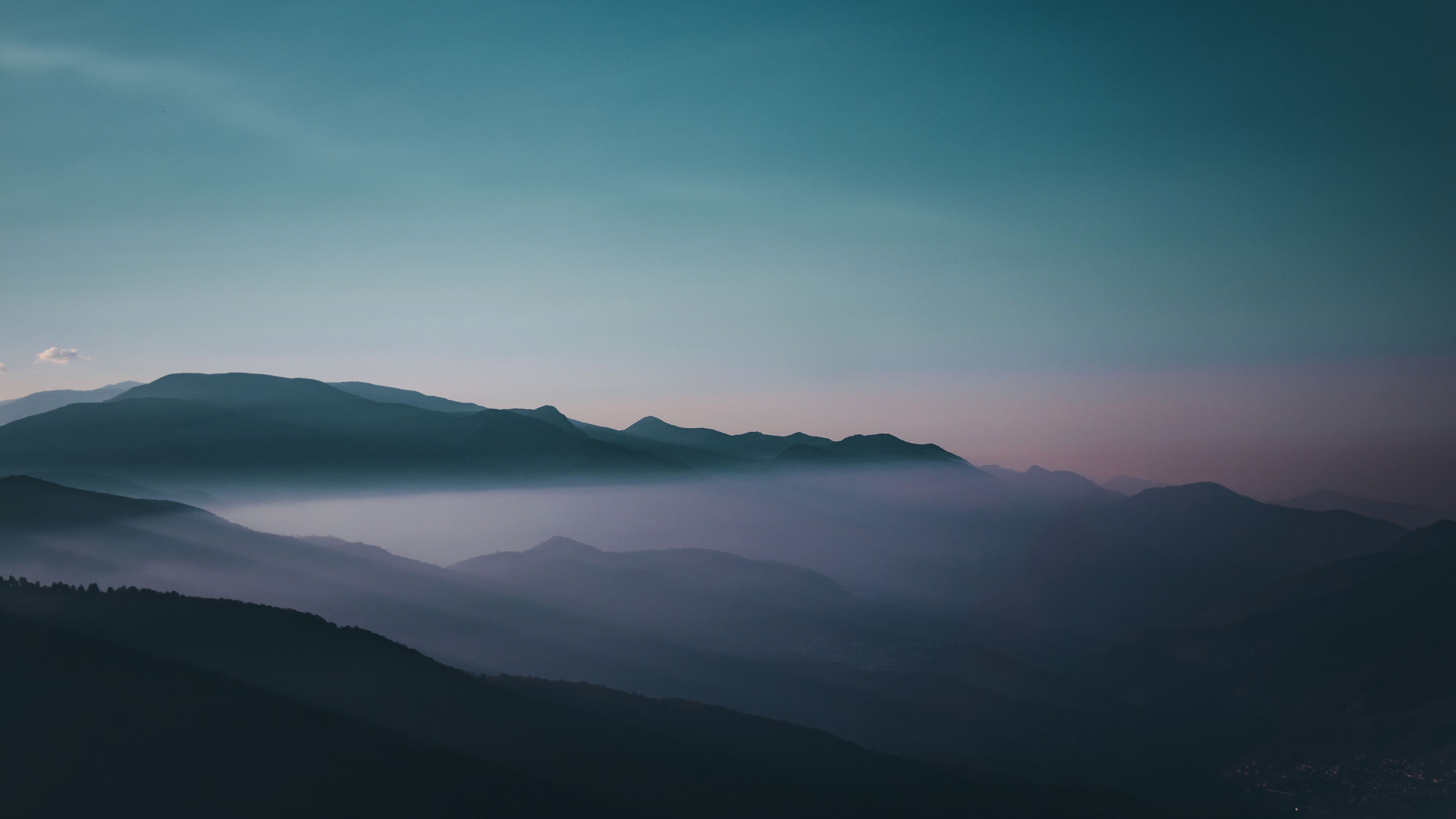 early morning fog sky mountains 4k 1551643434 - Early Morning Fog Sky Mountains 4k - sky wallpapers, nature wallpapers, mountains wallpapers, hd-wallpapers, fog wallpapers, 4k-wallpapers